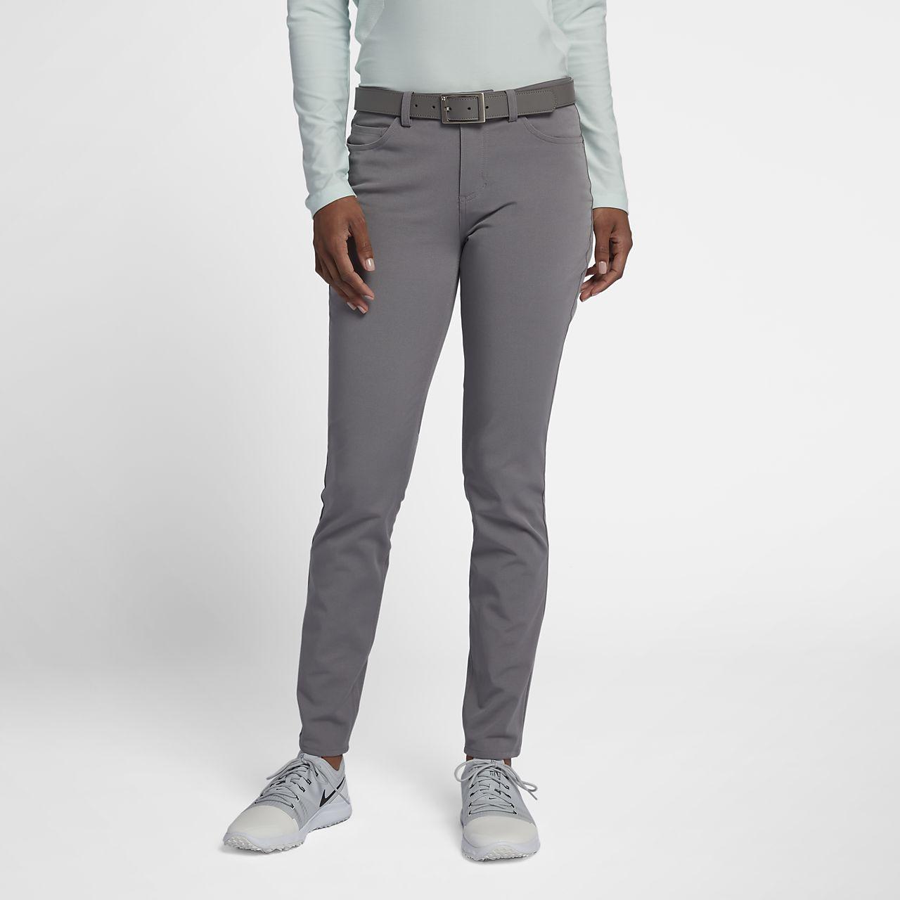 Calças de golfe entrançadas Nike Dry para mulher