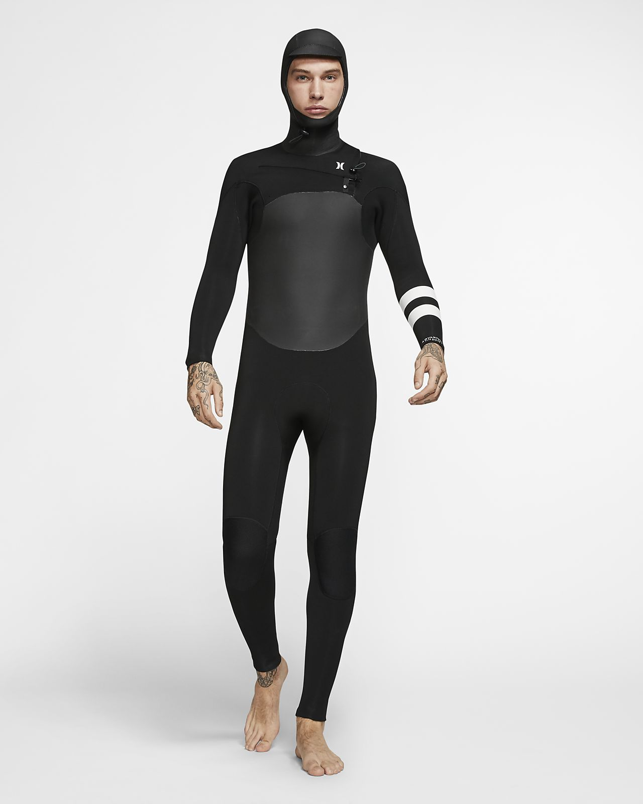 Traje de neopreno con capucha para hombre Hurley Advantage Plus 5/3mm Fullsuit