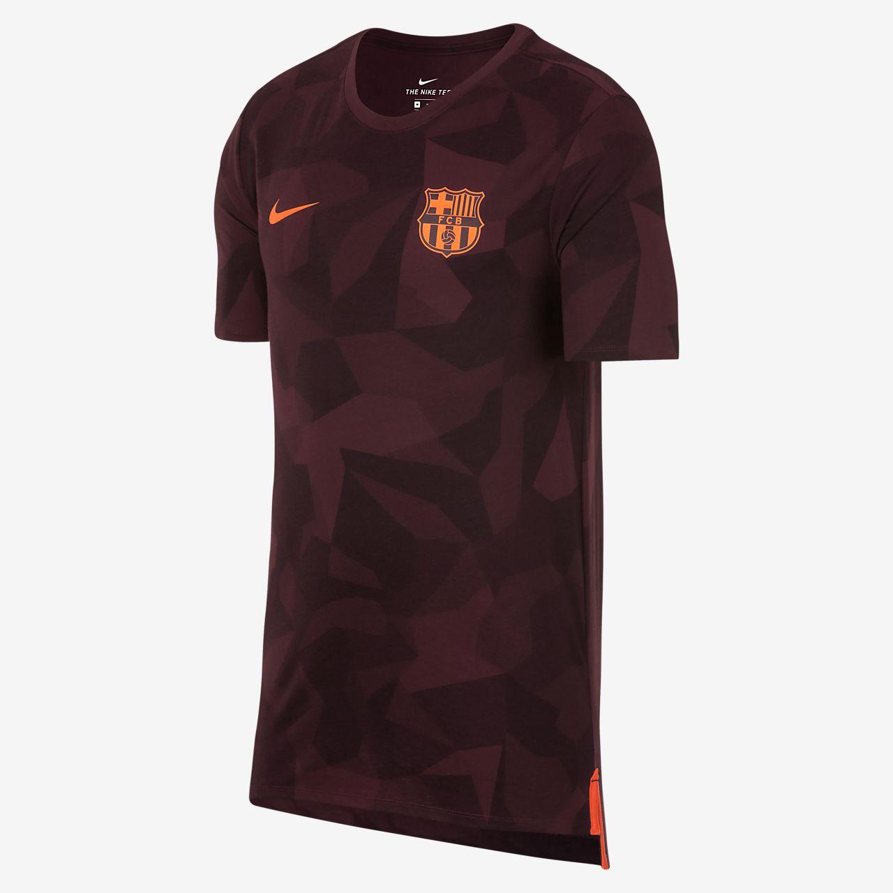 tee shirt nike fc barcelone