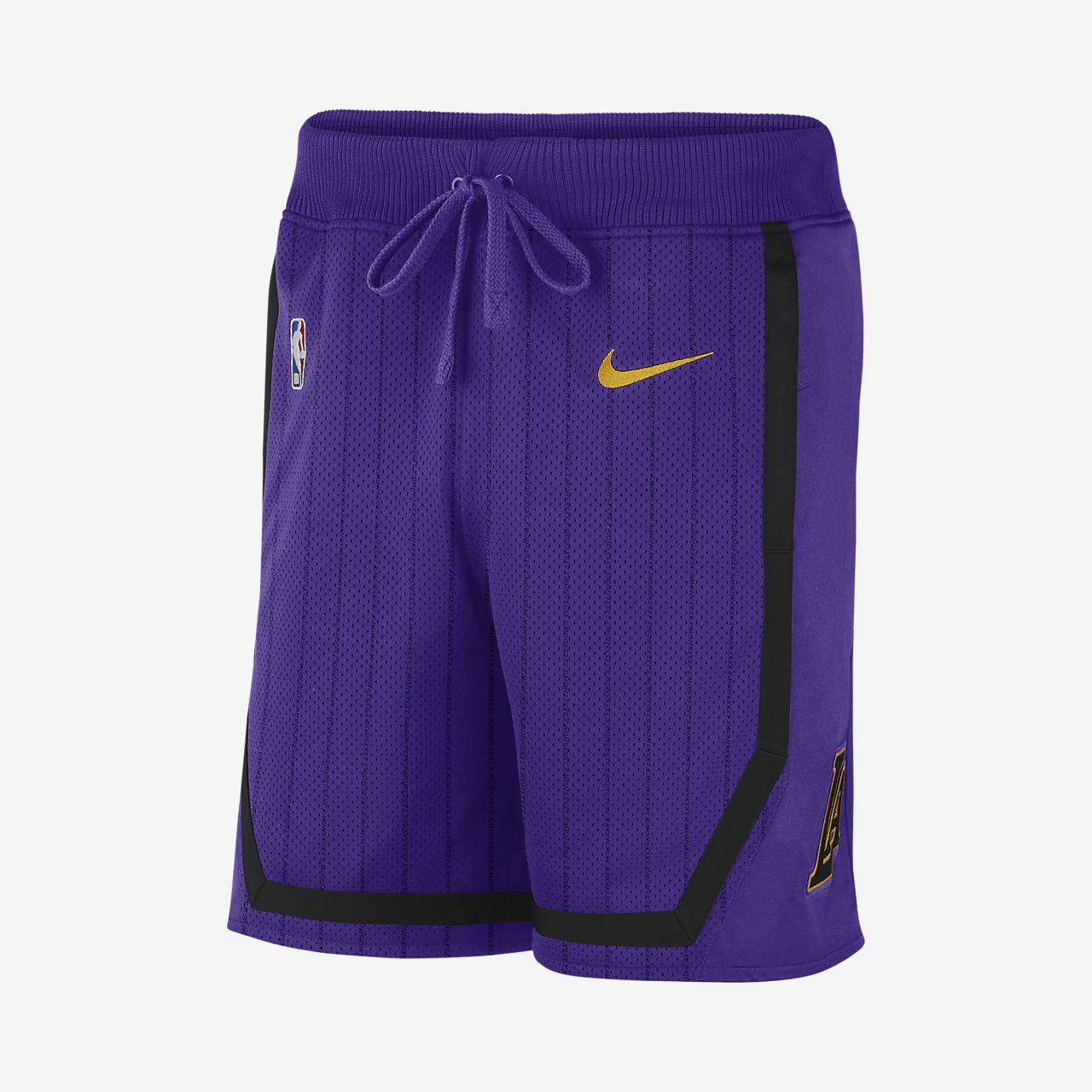Los Angeles Lakers Nike Courtside Pantalón corto de la NBA - Hombre ... 3c4983b1f034b