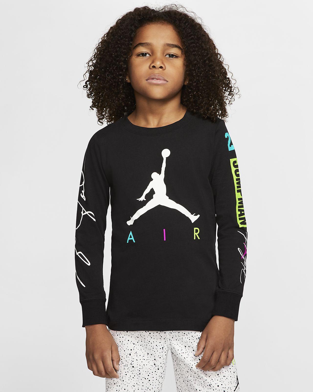 Jordan Jumpman 幼童长袖T恤