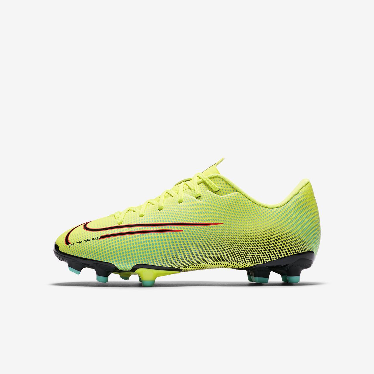 Nike Jr. Mercurial Vapor 13 Academy MDS MG fodboldstøvle til småstore børn (flere typer underlag)