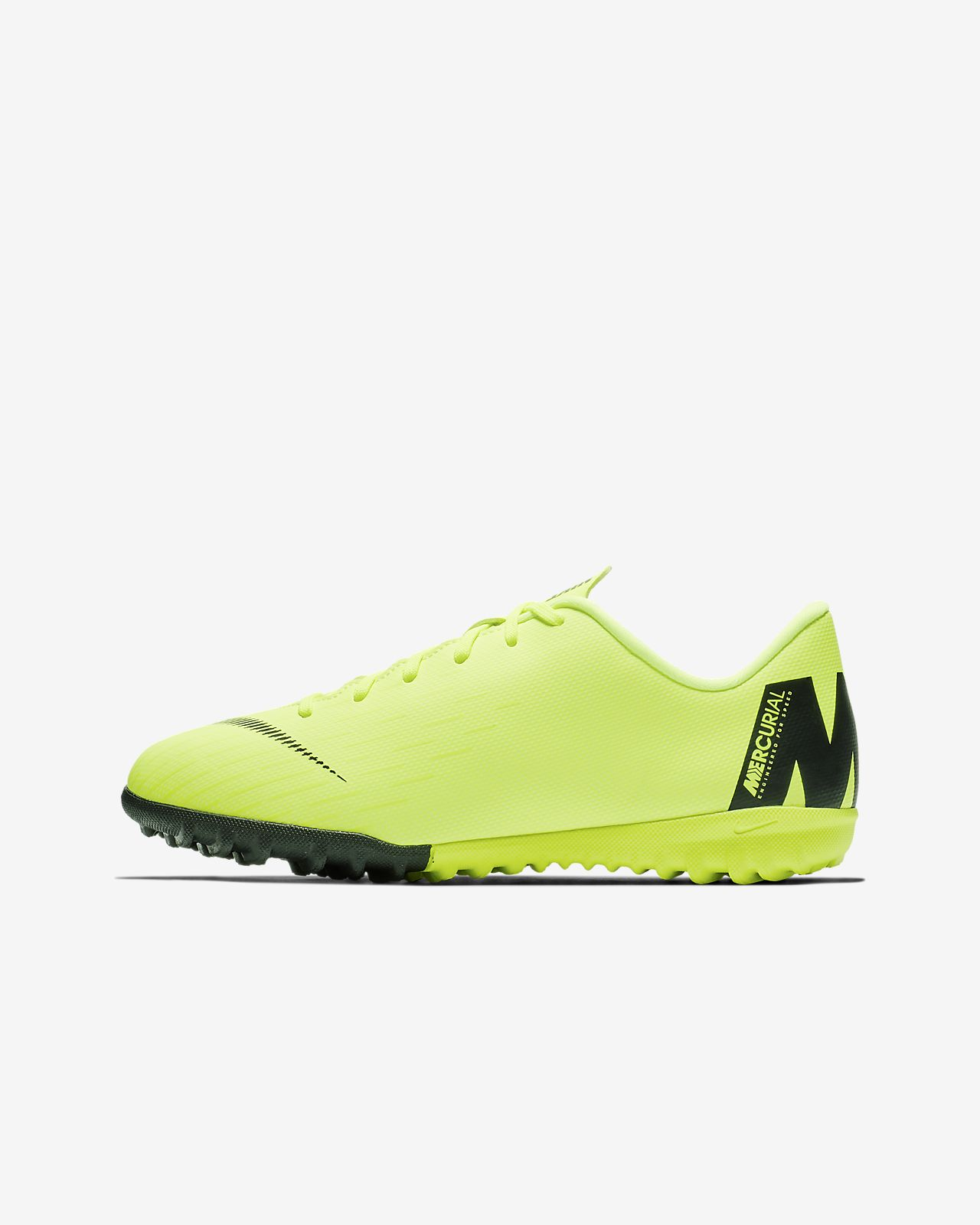 Nike Jr. MercurialX Vapor XII Academy Fußballschuh für Turf für jüngere/ältere Kinder