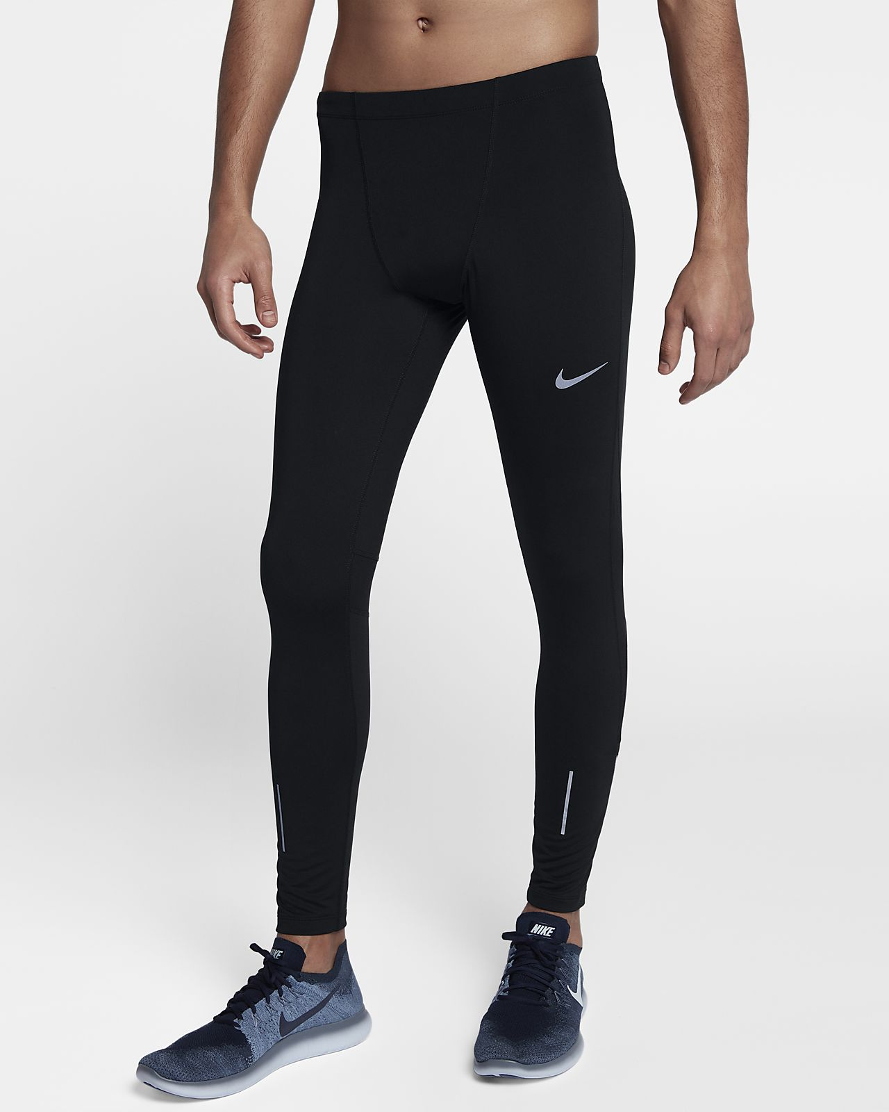 Nike Therma Run løpetights for herre (72,5 cm)
