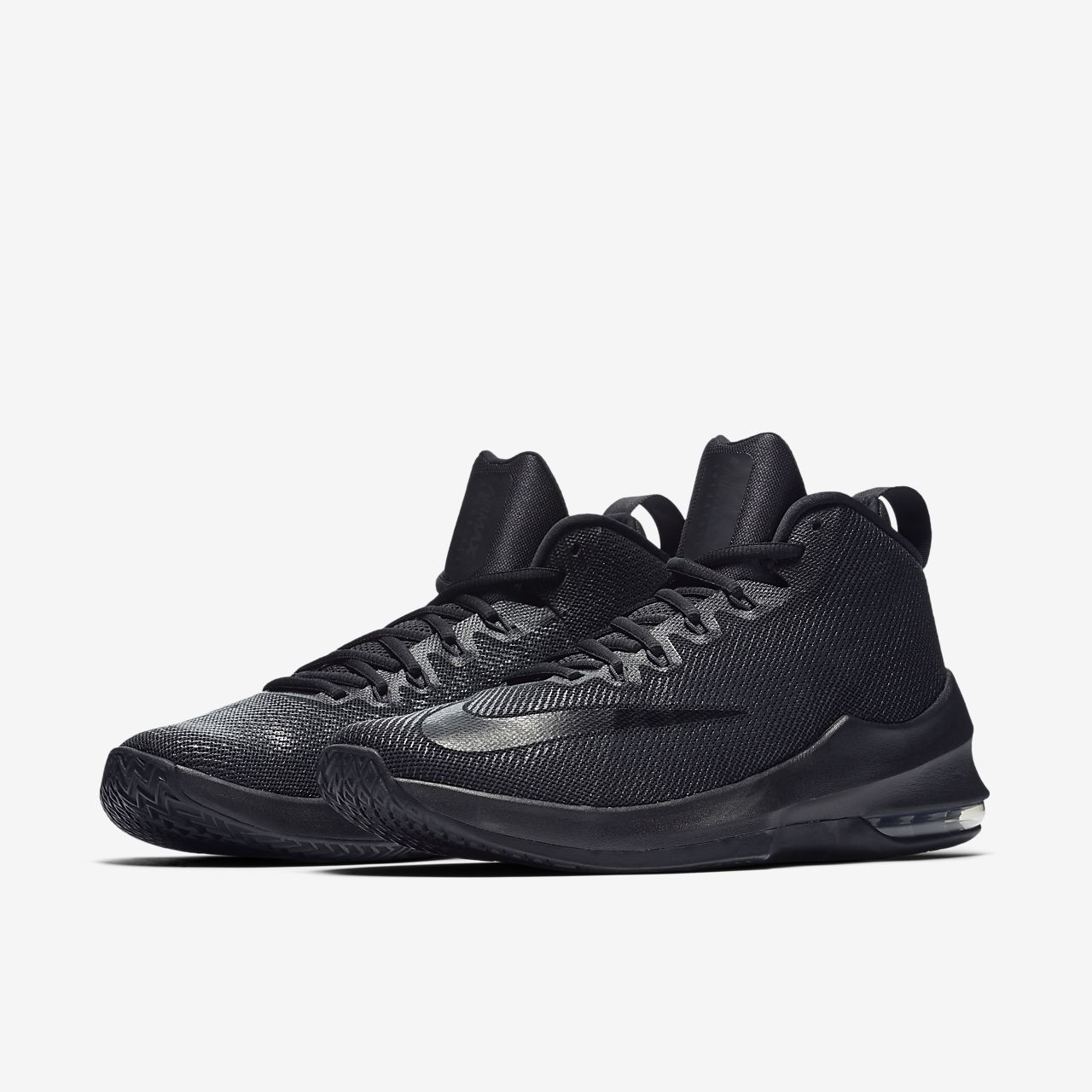 ... Nike Air Max Infuriate Mid Men's Basketball Shoe