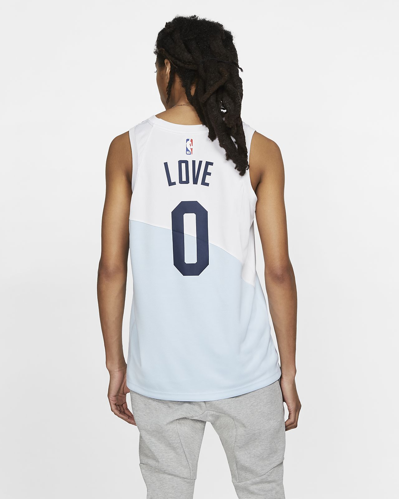 various colors f1d8b 4ffc5 Kevin Love Earned City Edition Swingman (Cleveland Cavaliers) Men's Nike  NBA Connected Jersey
