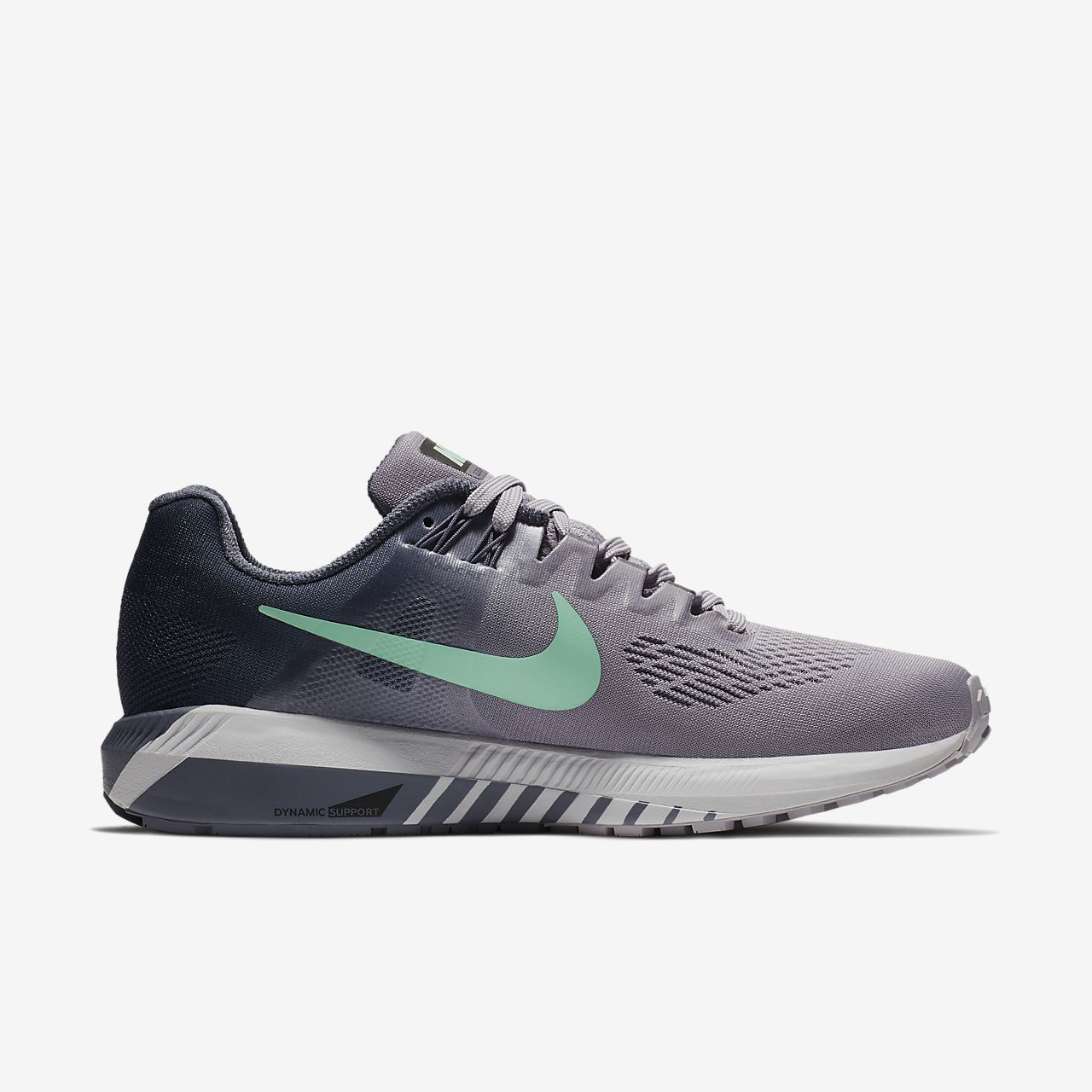 Nike Performance AIR ZOOM STRUCTURE 21 - Stabilty running shoes - dark stucco/pure platinum/sequoia/bleached aqua/white/black JdOEKL