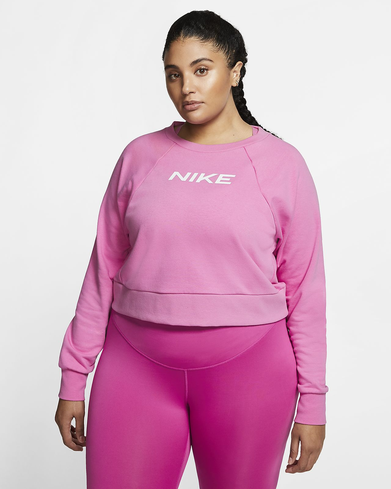 da Nike a girocollo training DonnaPlus Maglia Size dCtrxshQB