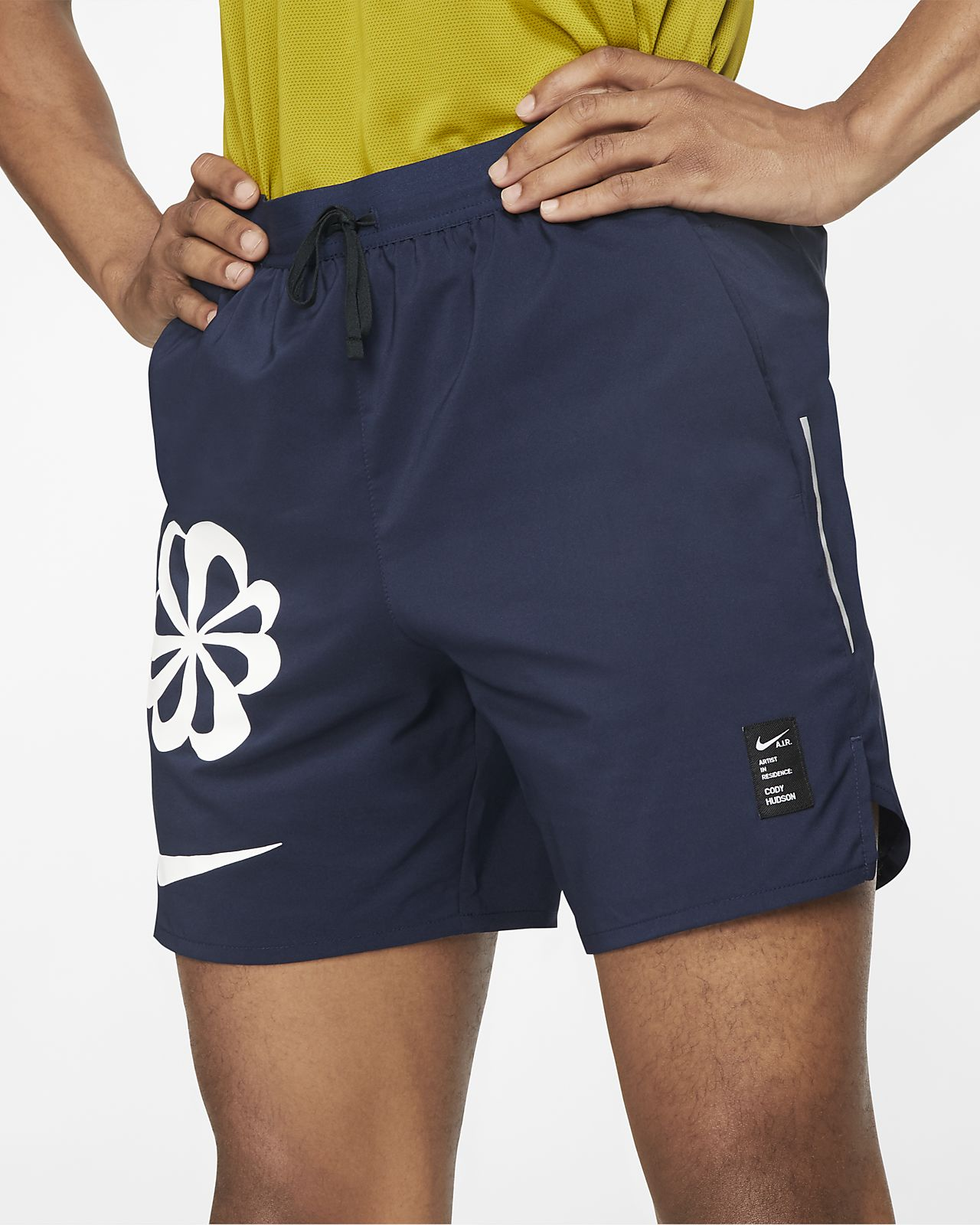 Nike Dri-FIT Flex Stride A.I.R. Løbeshorts med grafik til mænd