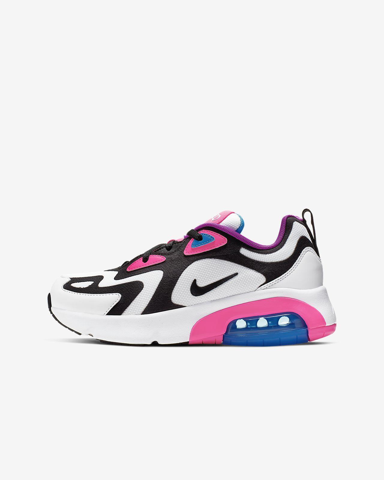 Nike Air Max 200 Big Kids' Shoe