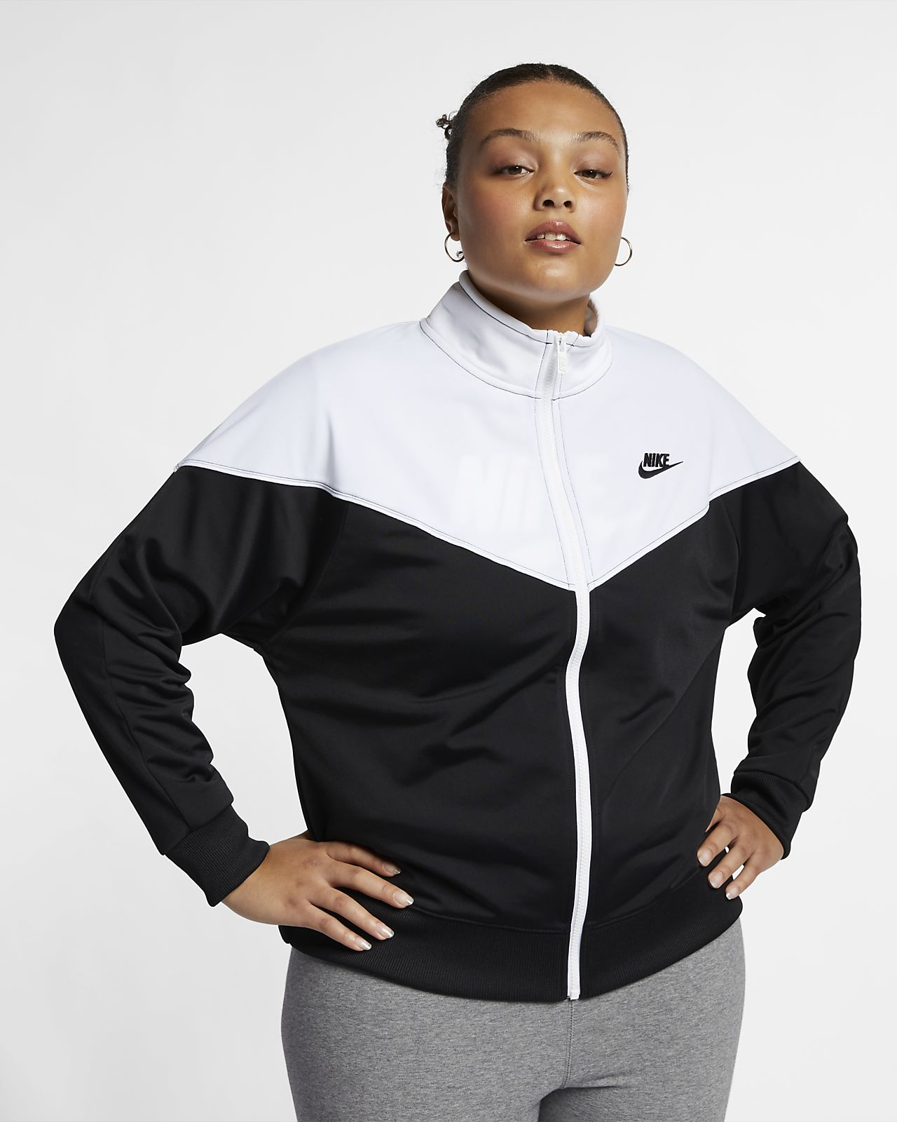 various colors 81ed1 f3ffa Women s Track Jacket (Plus Size). Nike Sportswear Heritage
