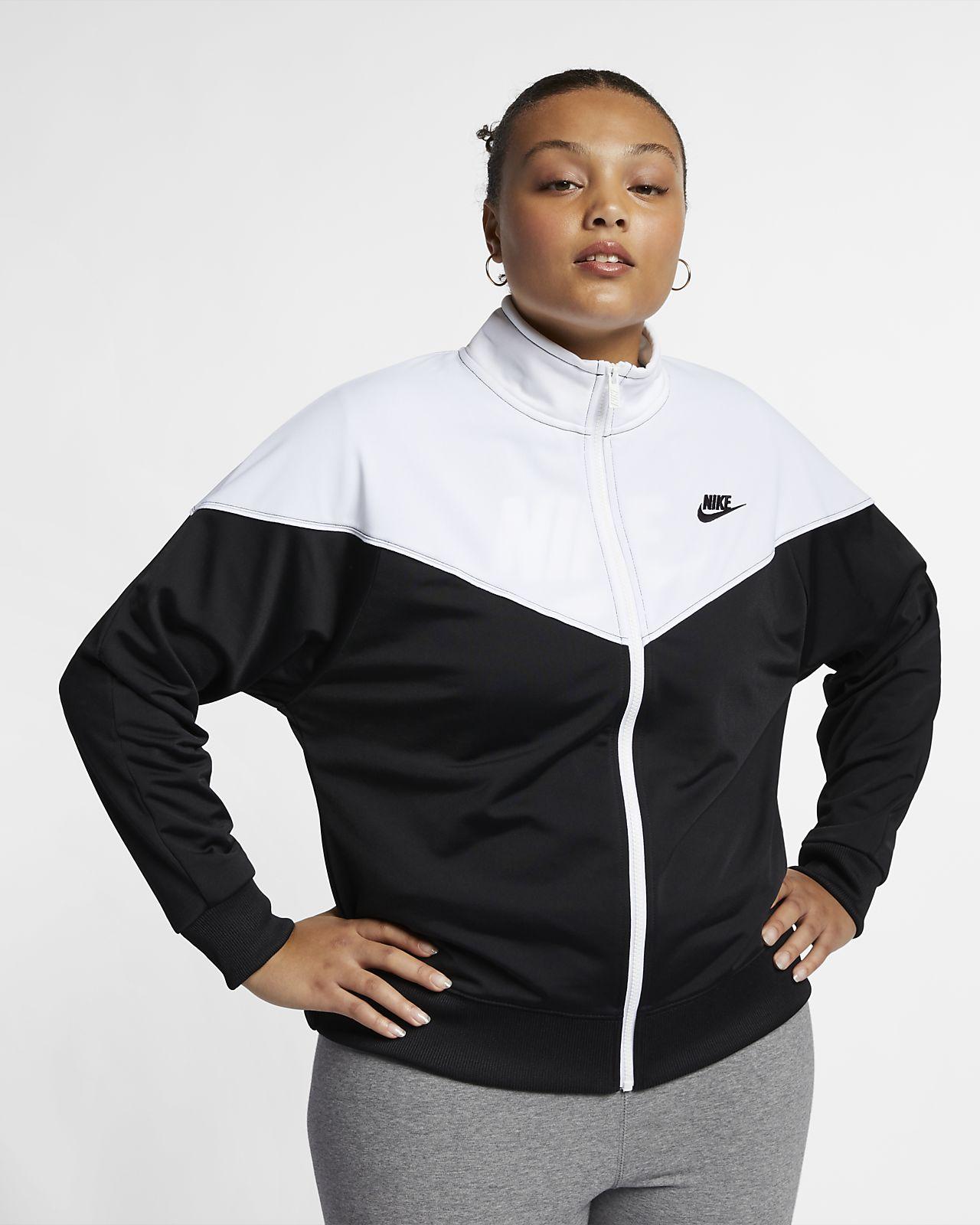 b4fbacf41c6 Nike Sportswear Heritage Women s Track Jacket (Plus Size). Nike.com
