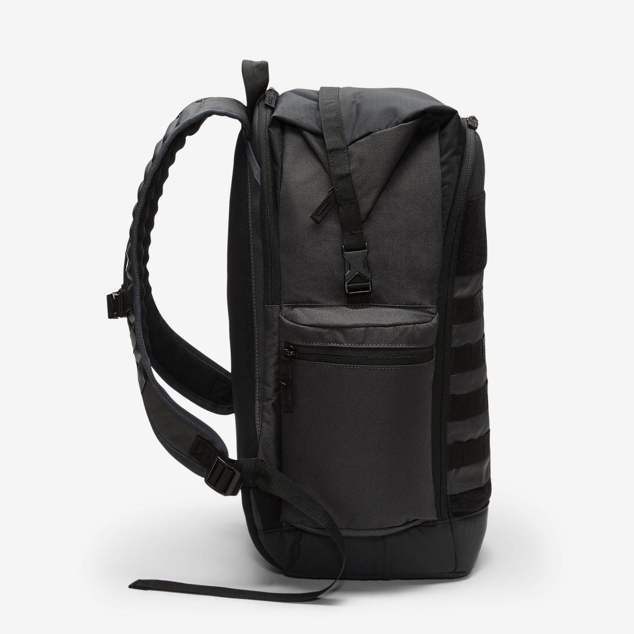 black and white nike bag