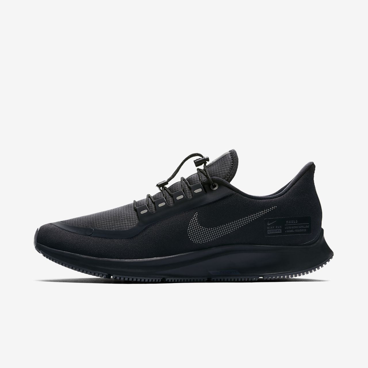 3b0574e99952 ... running shoes in black white f6b69 af56e  promo code for nike air zoom  pegasus 35 shield water repellent 0b801 e3943