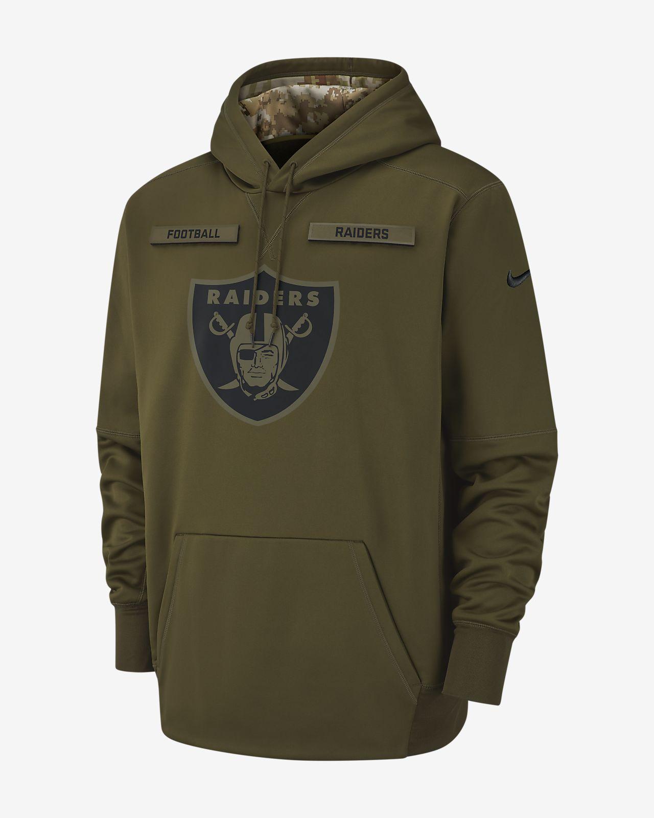 4b5eea22da3d Nike Therma Salute to Service (NFL Raiders) Men s Hoodie. Nike.com