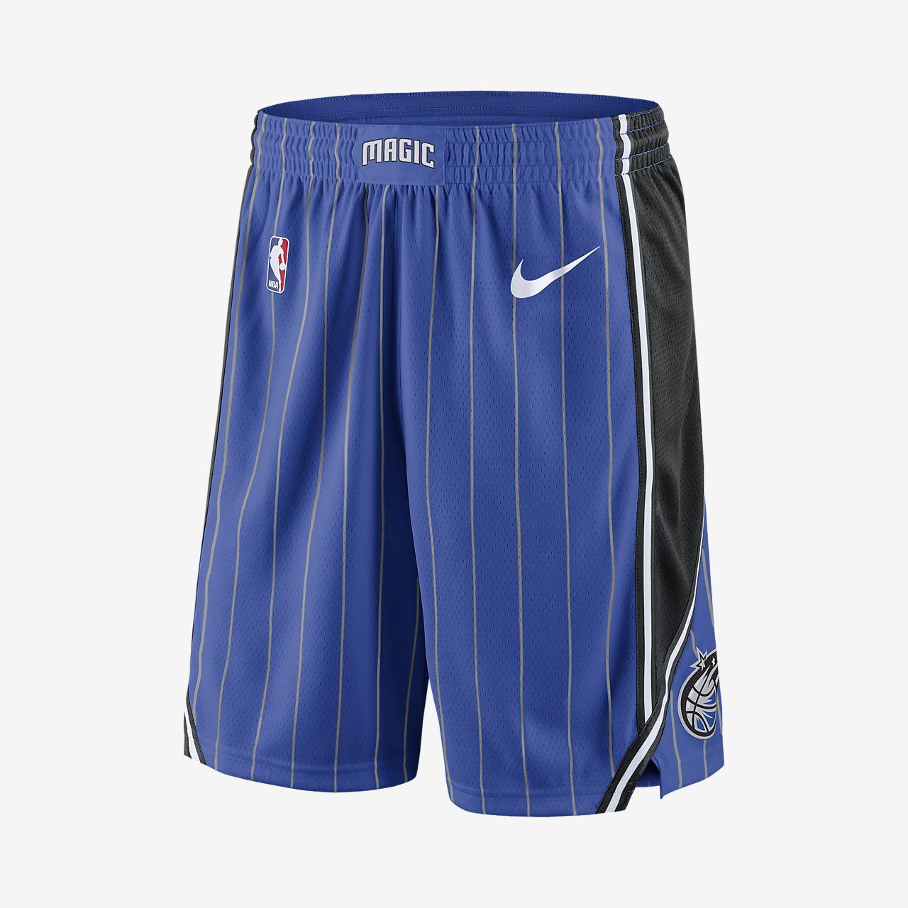 Shorts de NBA para hombre Orlando Magic Nike Icon Edition Swingman