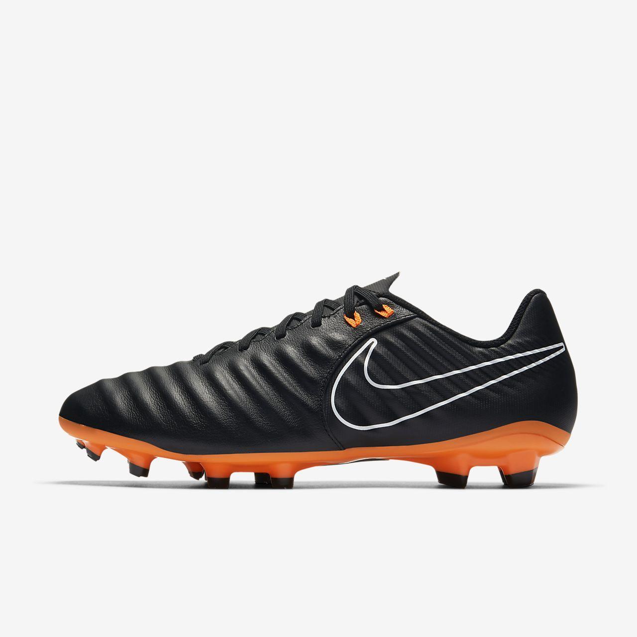 Legend 7 Club (FG) Football Boots - Black/Orange ltptzOIURh