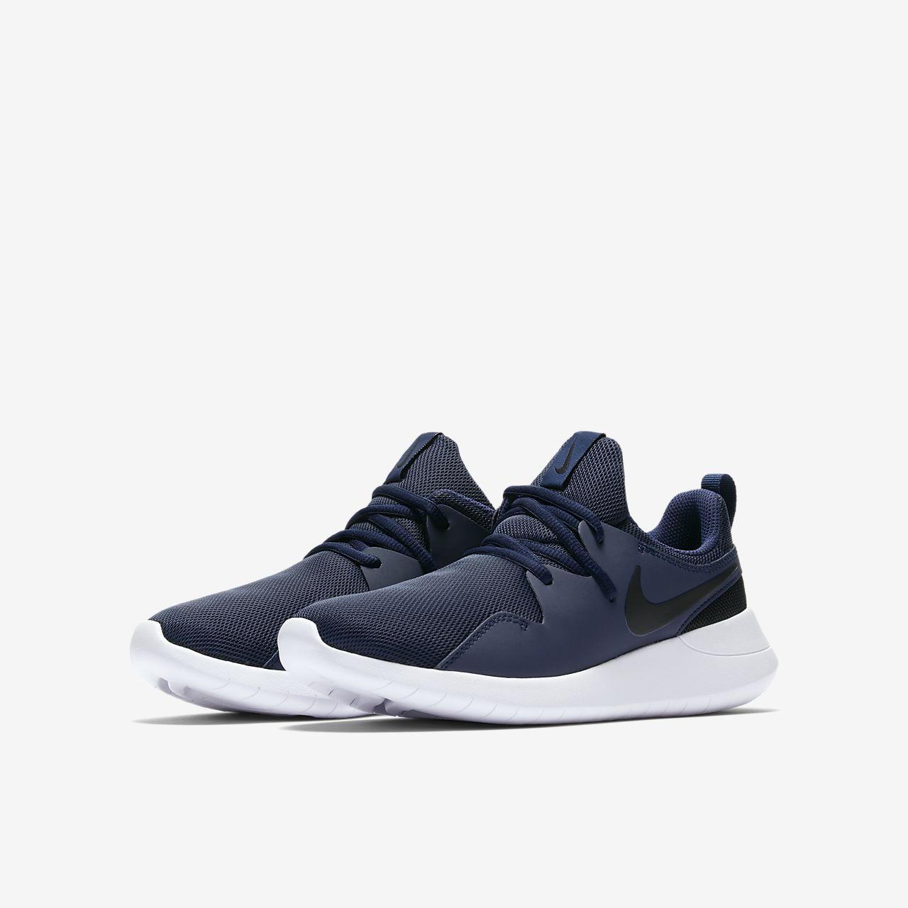 Nike TESSEN Scarpe Da Ginnastica Da Uomo Navy/Nero Scarpe Sportive Scarpe Da Ginnastica