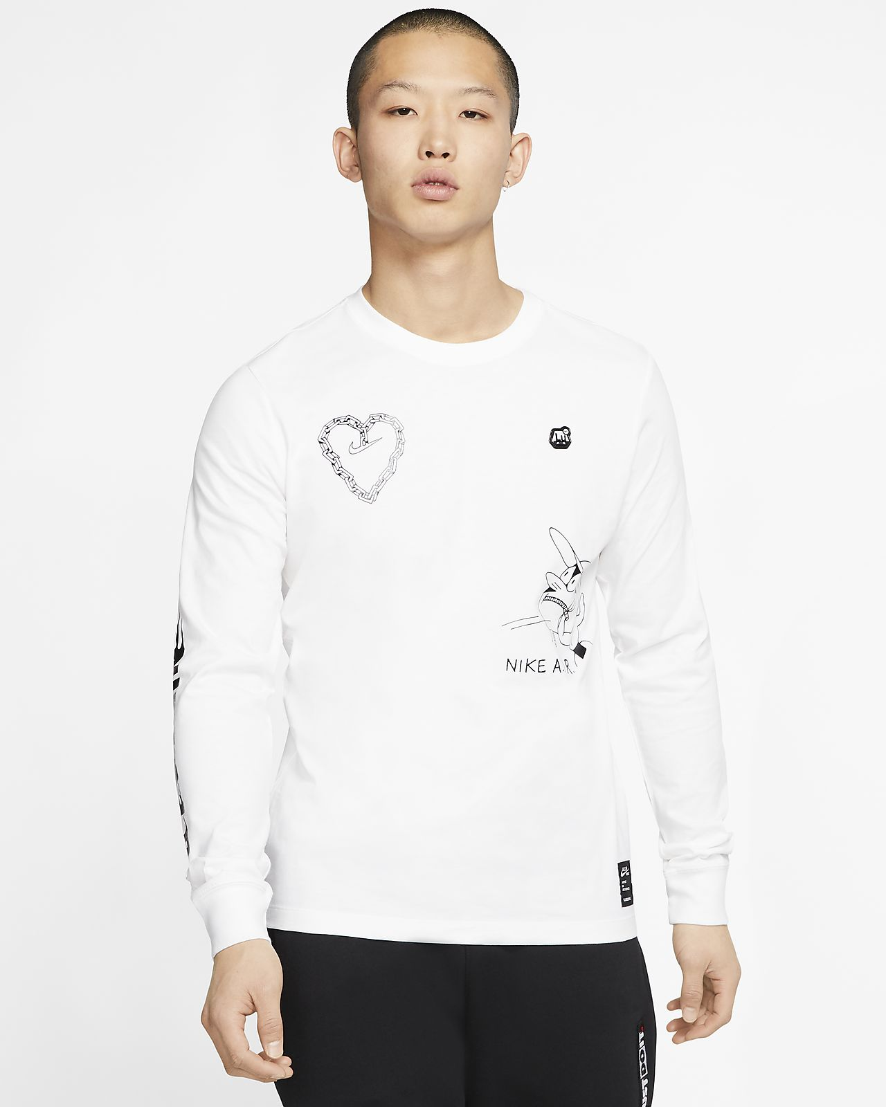 Nike Sportswear T shirt met lange mouwen voor heren