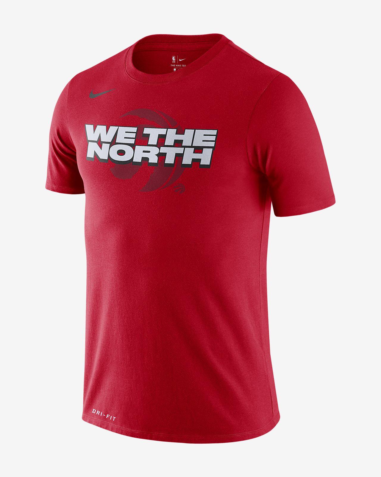 Toronto Raptors Nike Dri-FIT NBA-herenshirt