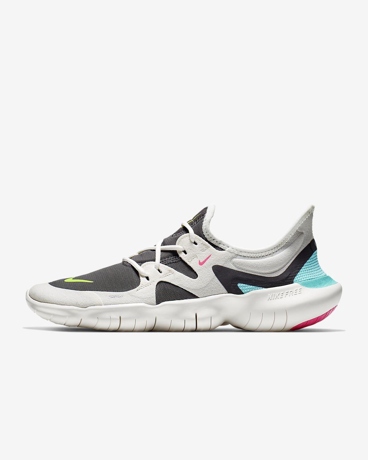 Nike Free Run Damen Günstige 2018 Damen Nike Free 5.0 Rosa Folie Schwarz Rosa Pow Helle CitrLaufschuhe