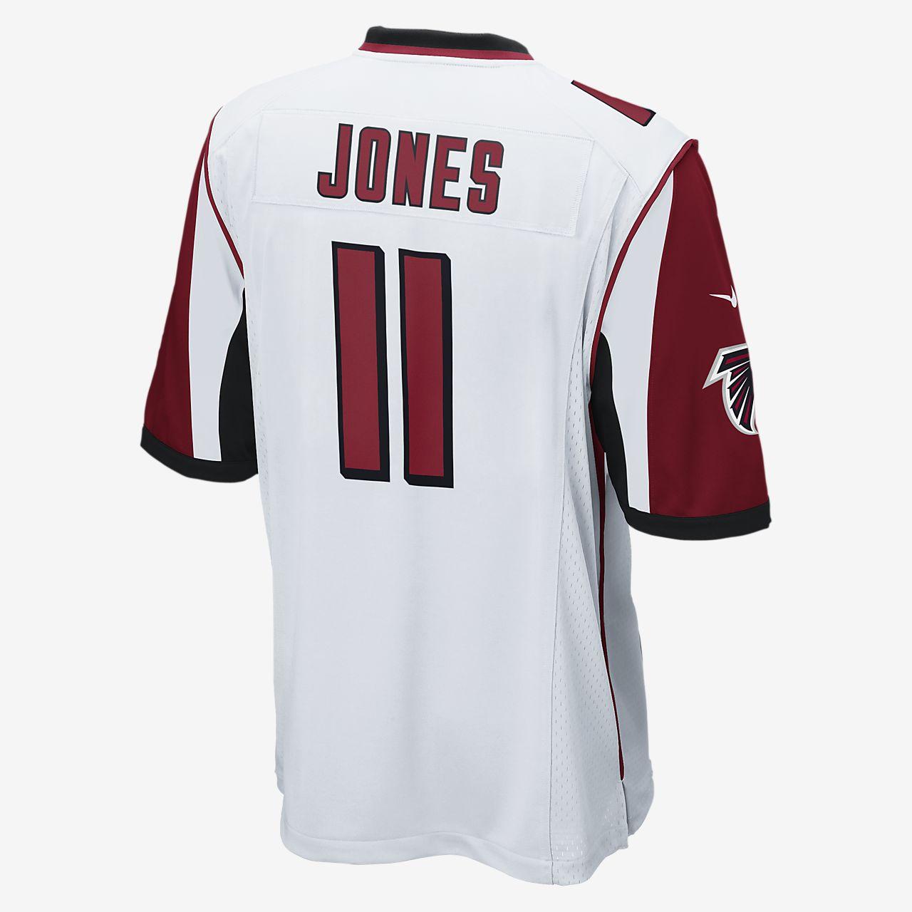 656ac683e NFL Atlanta Falcons (Julio Jones) Men s Football Away Game Jersey ...