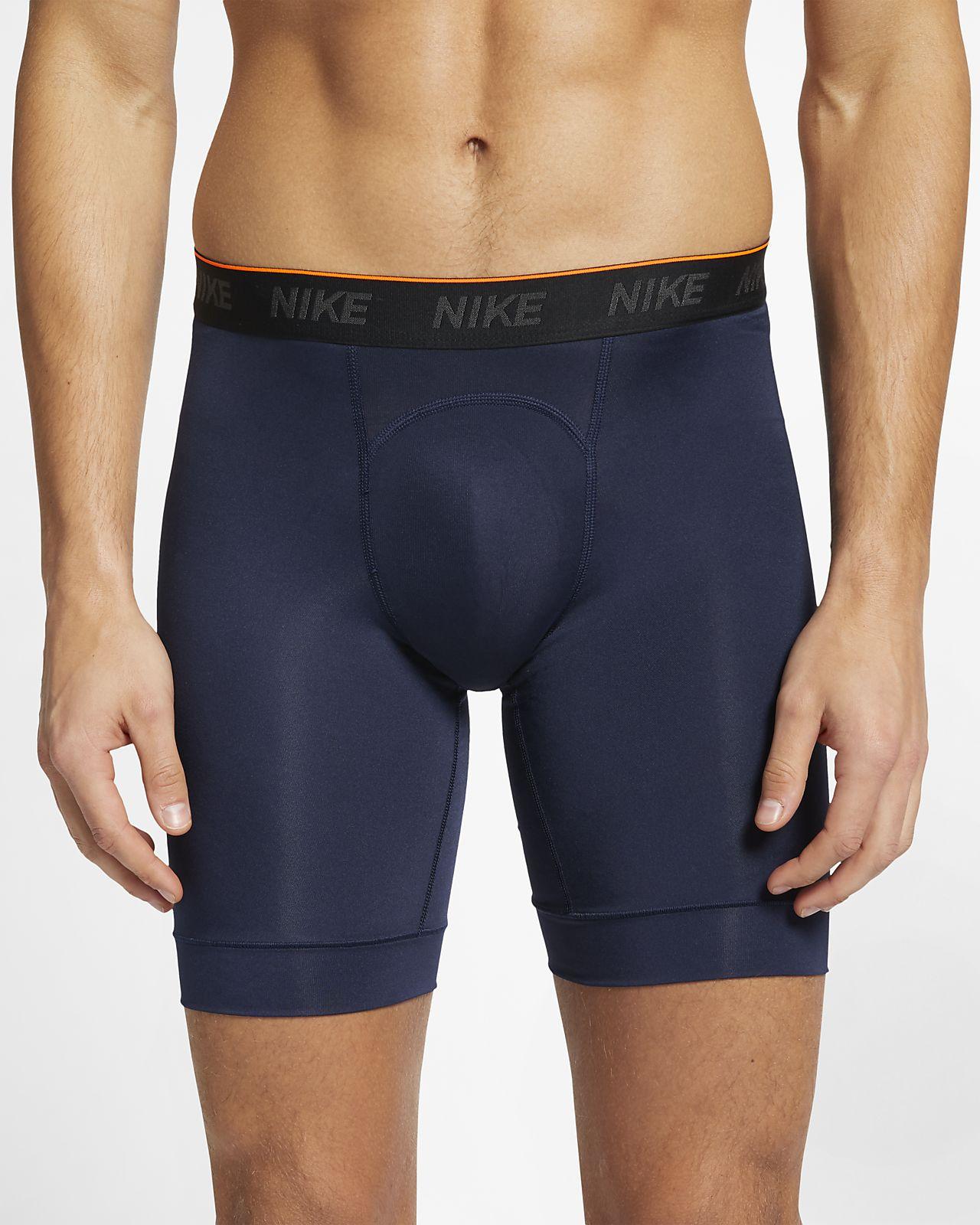 Nike  Men's Long Boxer Briefs (2 Pairs)