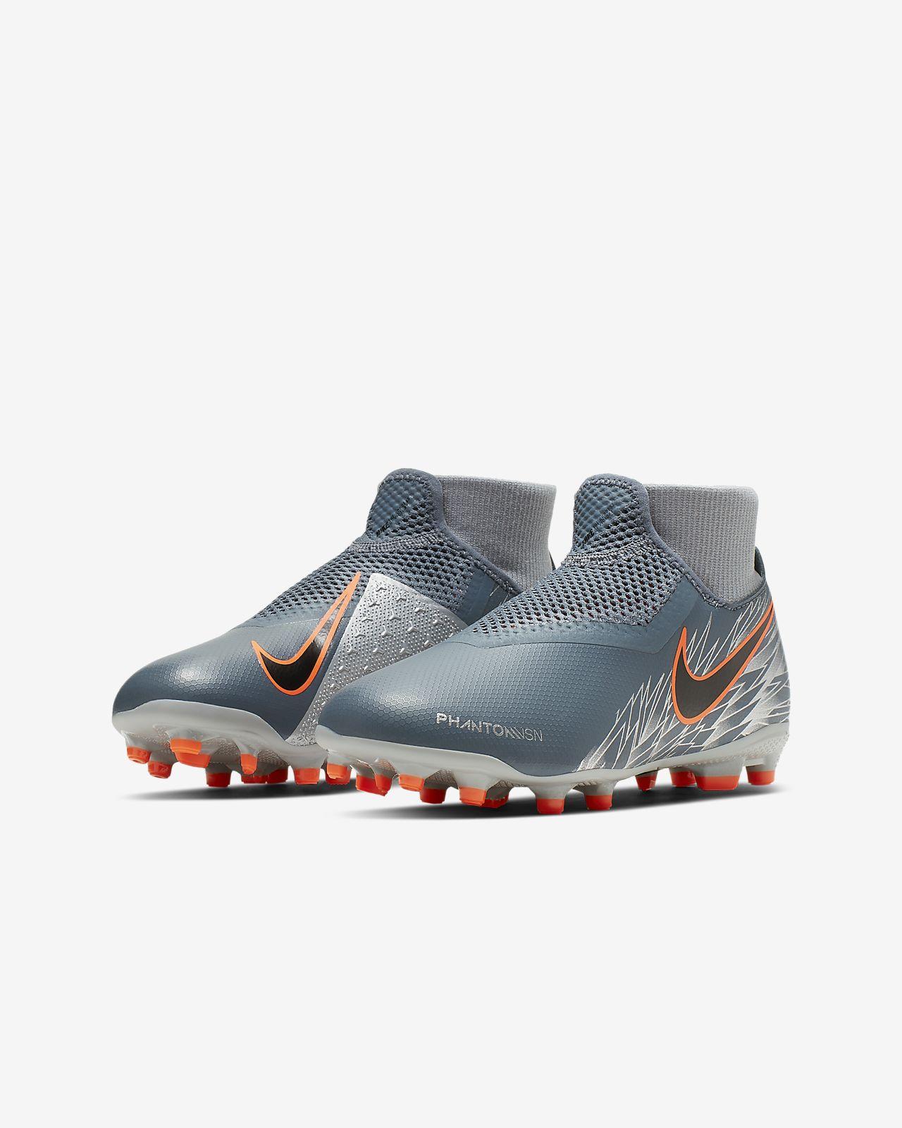 sale retailer 8f4b6 093d2 ... Nike Jr. Phantom Vision Academy Dynamic Fit MG-fodboldstøvle til flere  typer underlag til