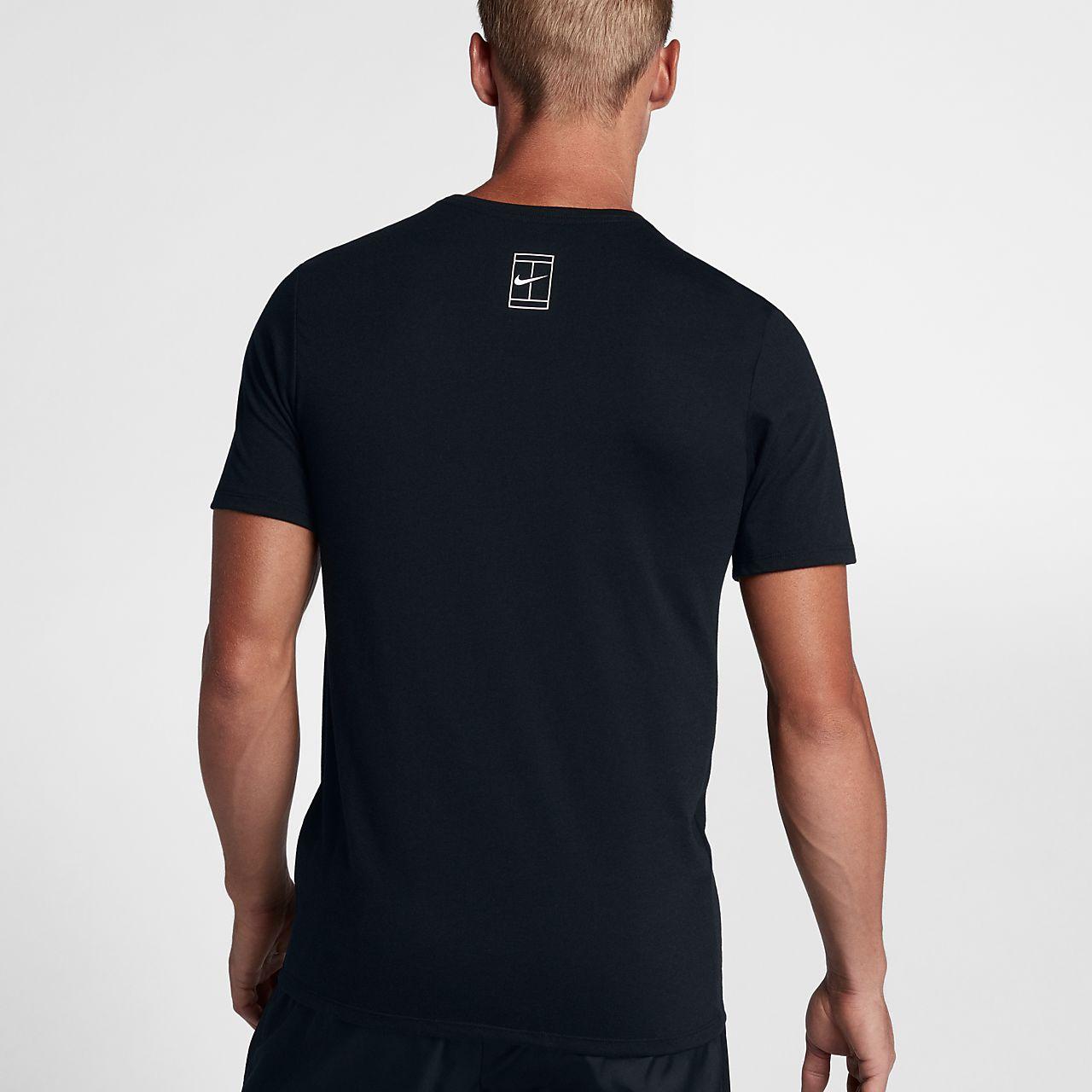 tennis t-shirt herren nike
