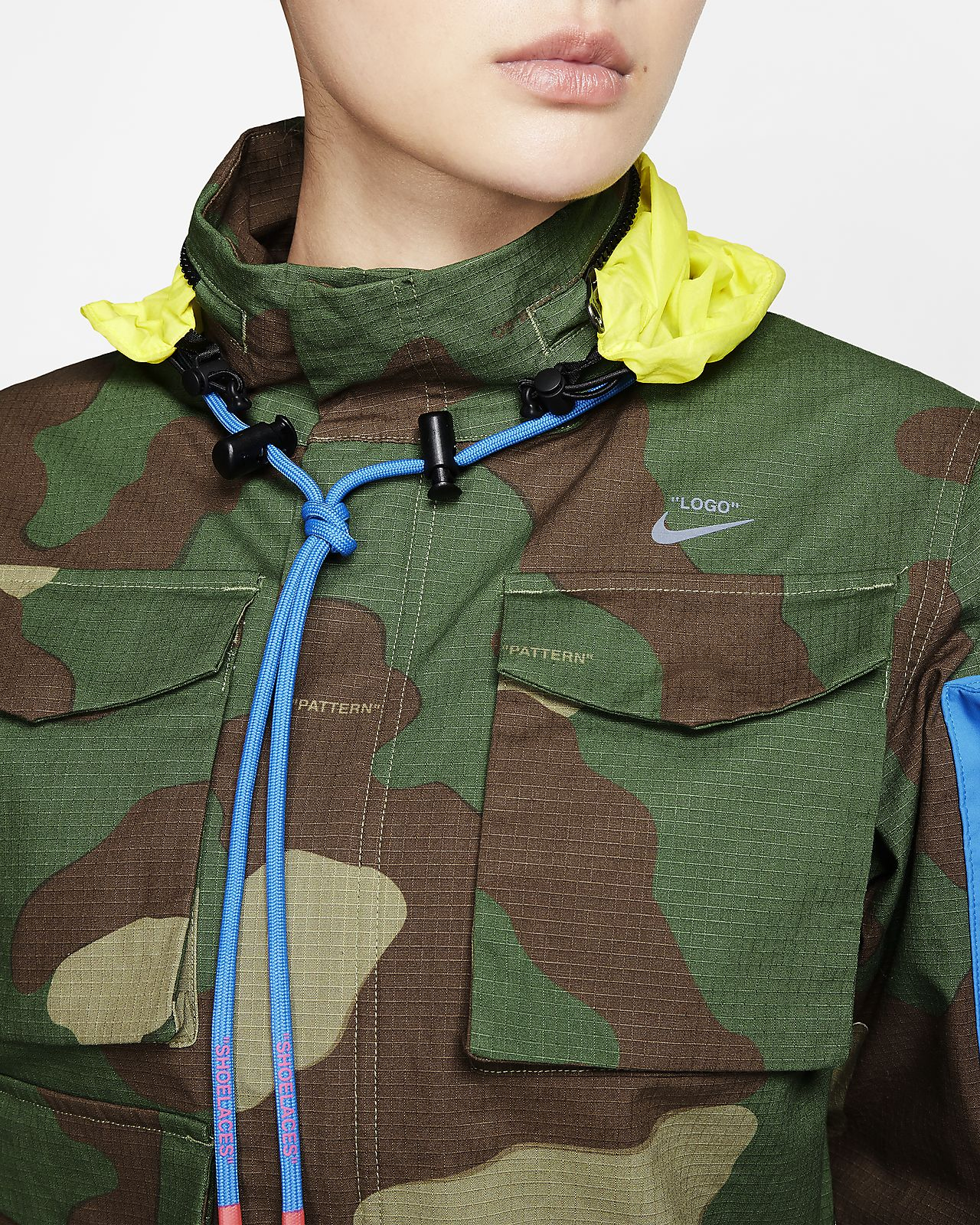 Nike x Off White™ Women's Camo Jacket