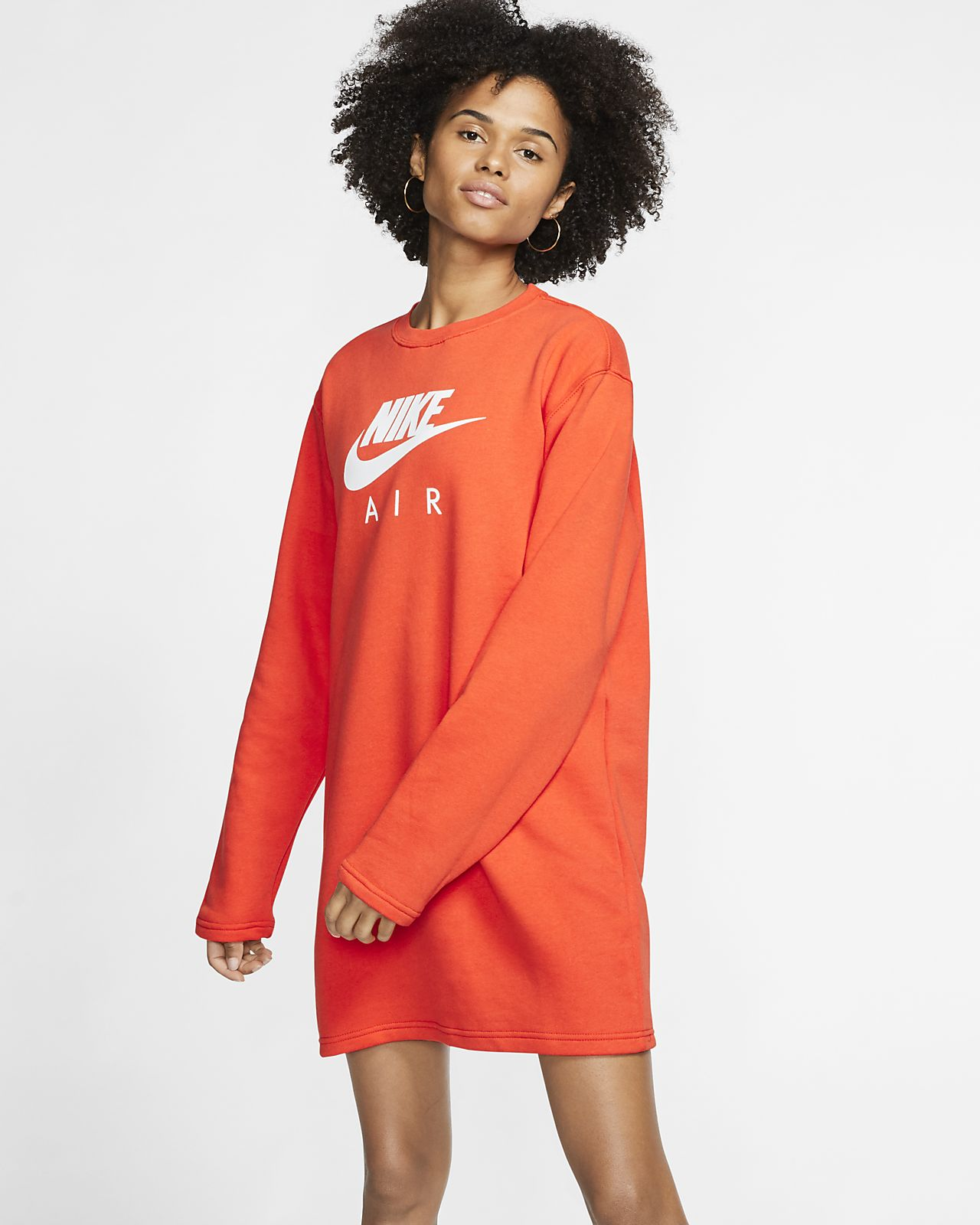 Fleeceklänning Nike Air för kvinnor
