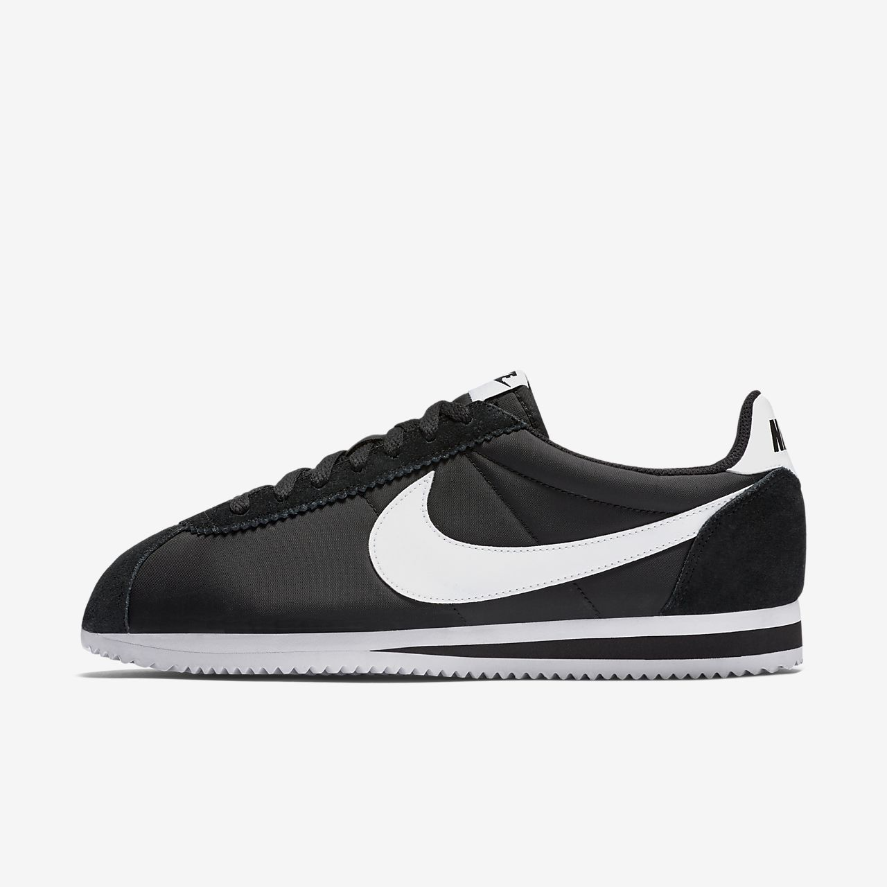 nike cortez men blue nylon