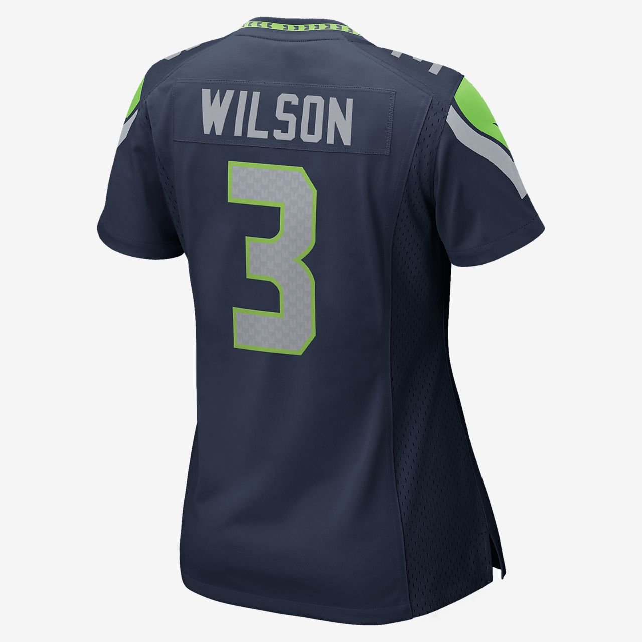d66172bca89 NFL Seattle Seahawks (Russell Wilson) Women's Football Home Game ...