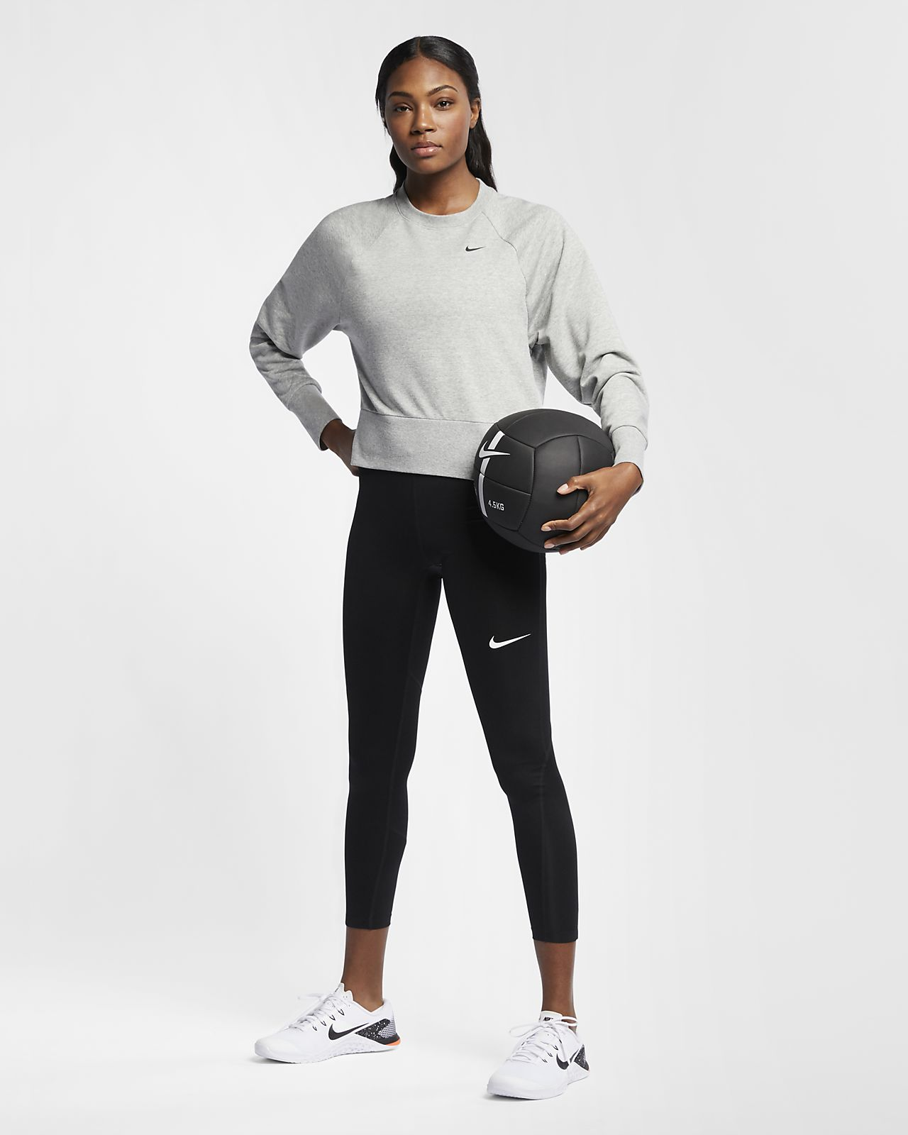 b0084e6abf Nike Dri-FIT Women's Long-Sleeve Yoga Training Top. Nike.com