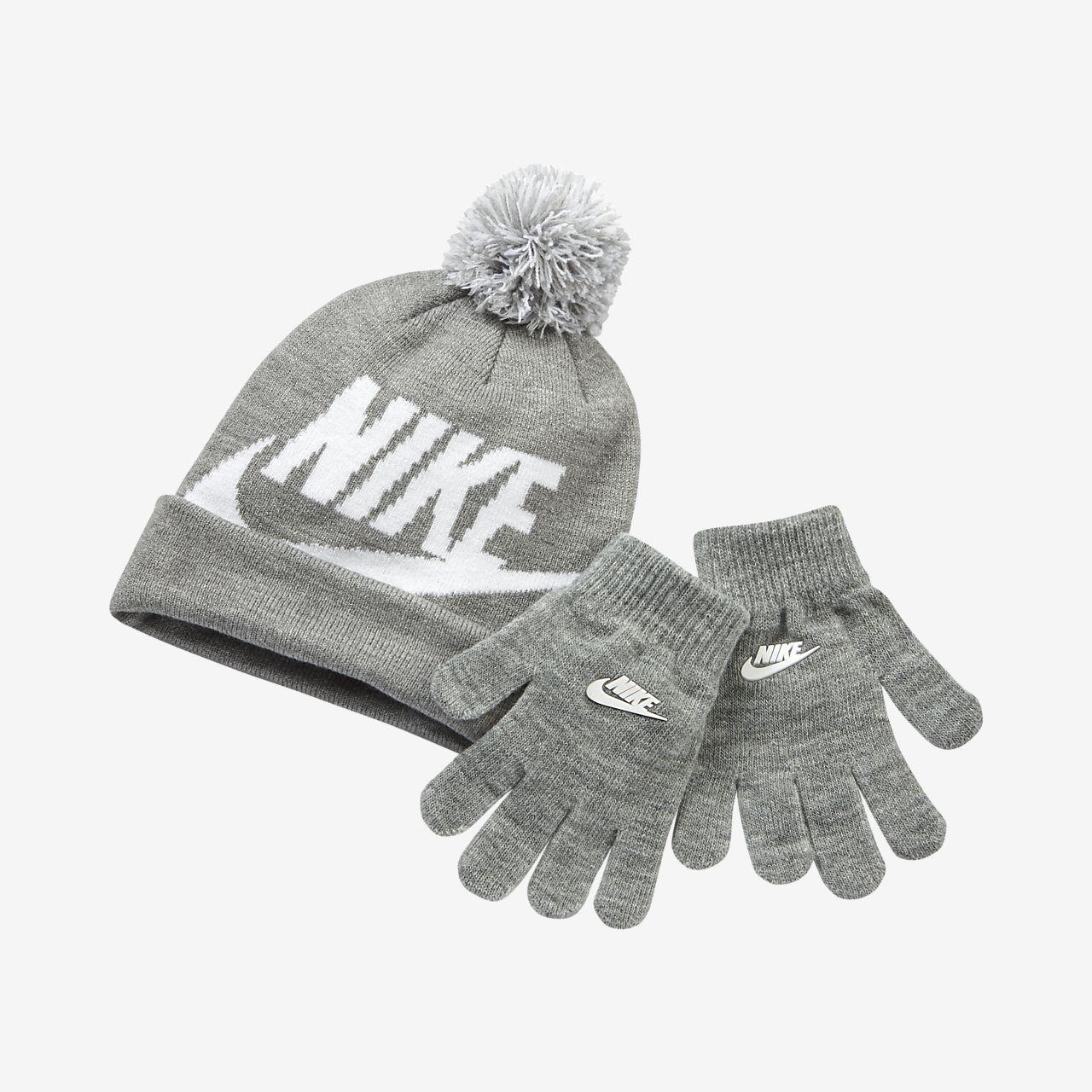 Nike Jordan Boys Beanie and Gloves Set a52c324b84c
