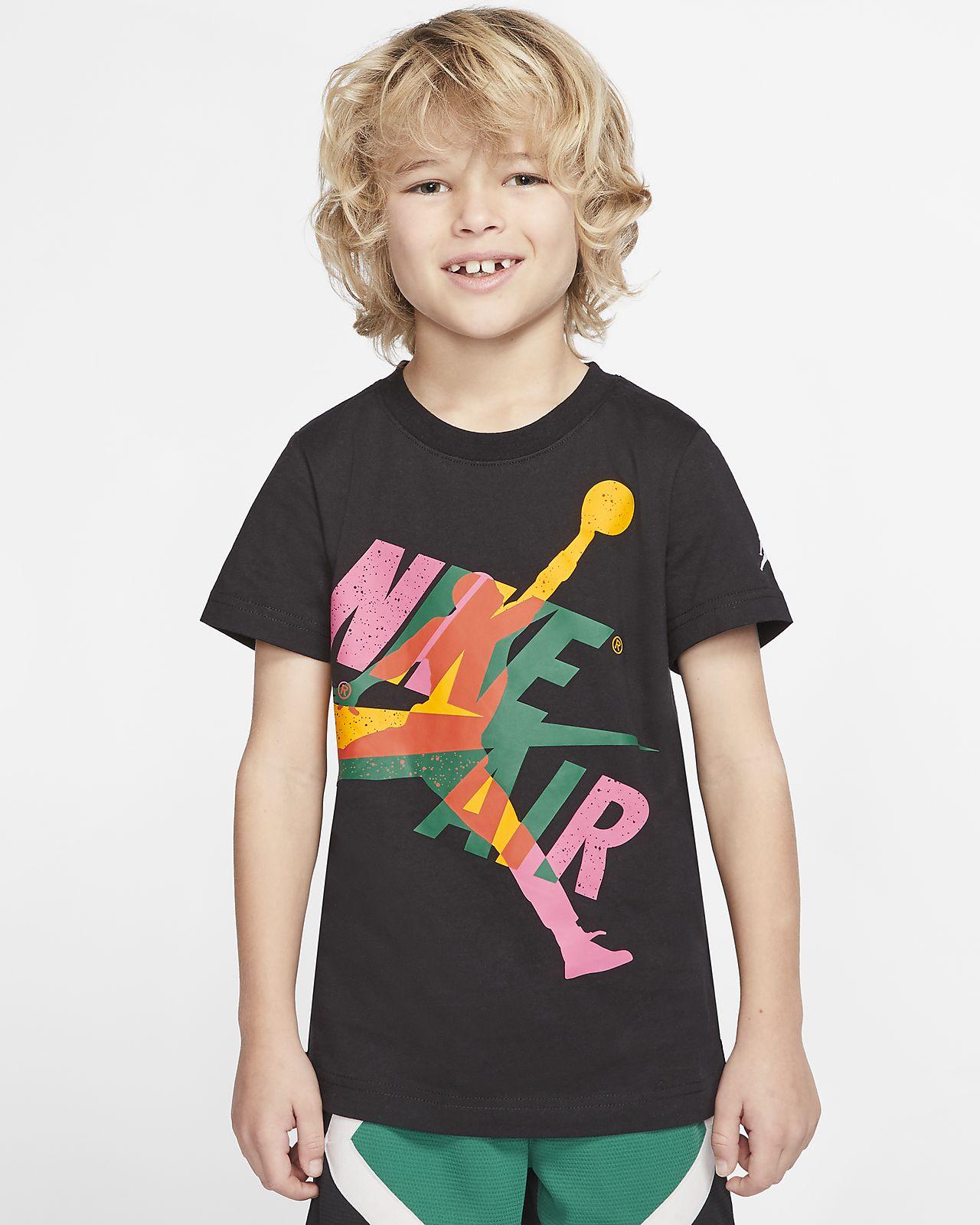 Kortærmet Jordan Jumpman Classics T shirt til små børn