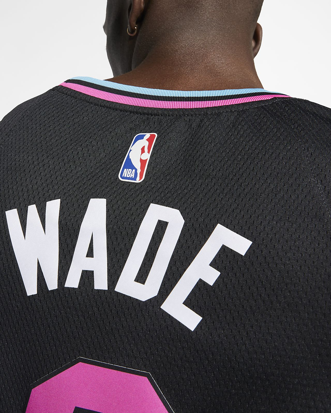 ... Dwyane Wade City Edition Swingman (Miami Heat) Men s Nike NBA Connected  Jersey e289c678b