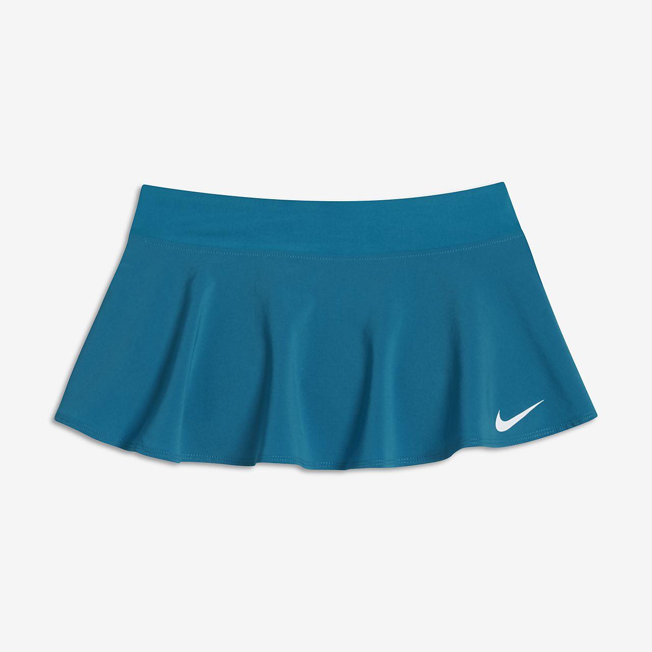 Falda de tenis para niña talla grande NikeCourt Pure