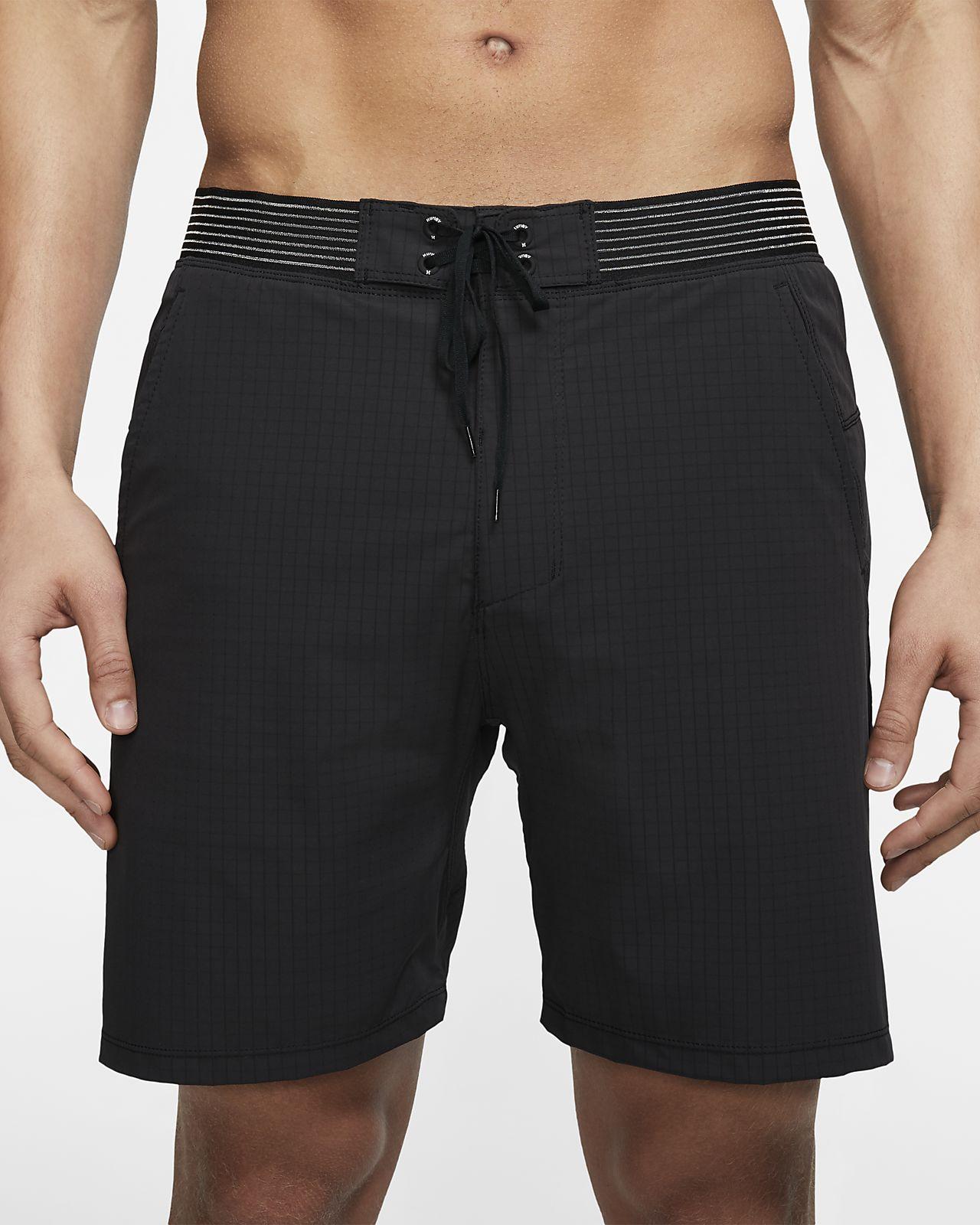 Hurley Phantom Alpha Trainer Plus 2-i-1-shorts til herre (45,5 cm)