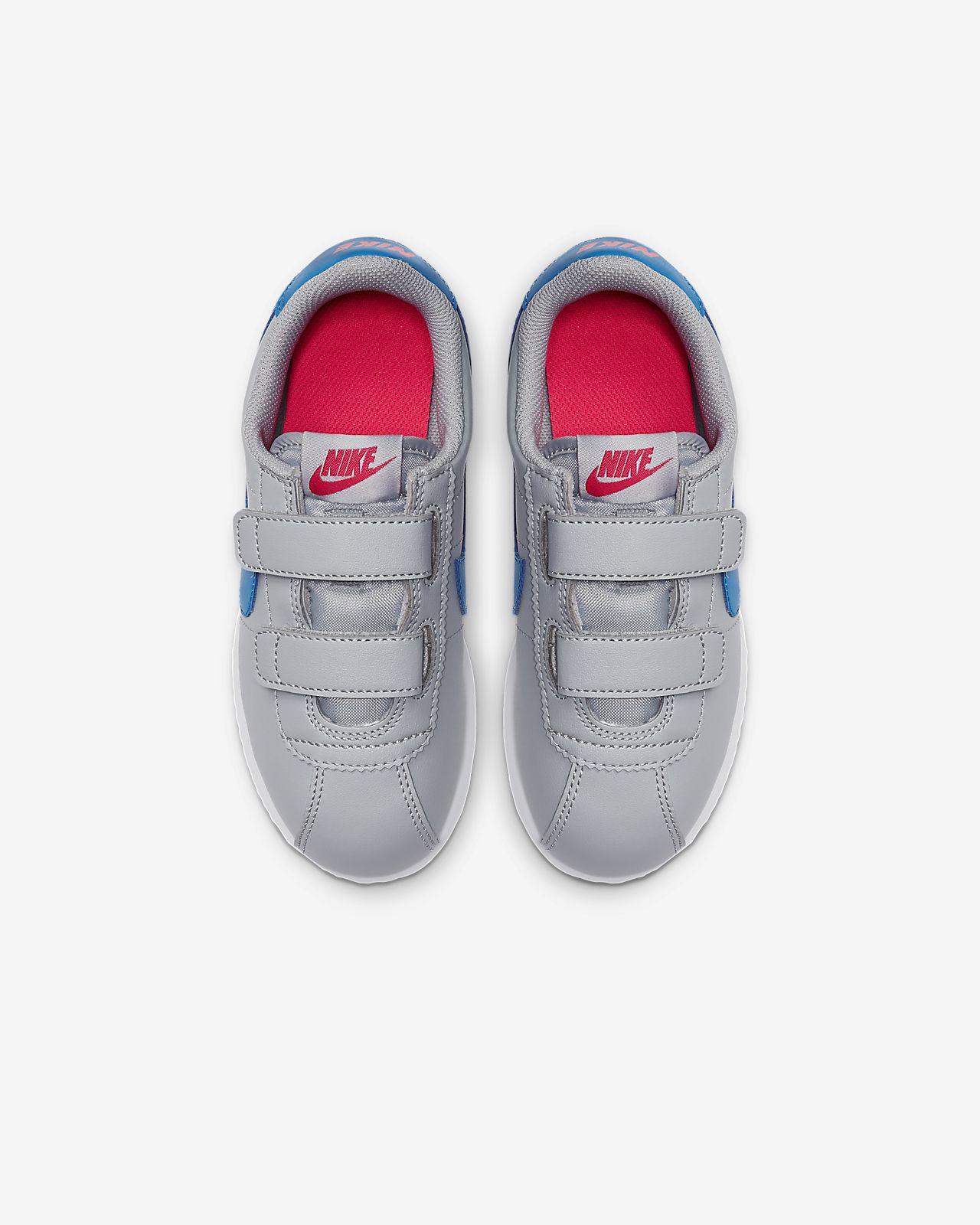 Baskets Nike Cortez Basic SL Blanc Blanc, gris Achat