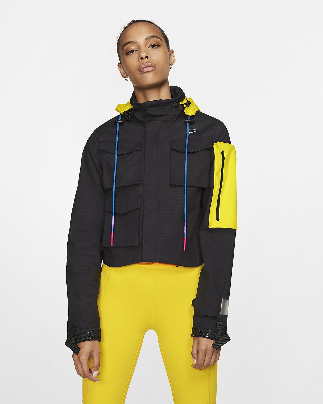 เสื้อแจ็คเก็ตวิ่งผู้หญิง Nike x Off-White