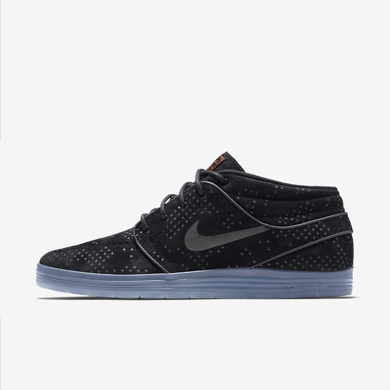 Nike Lunar Stefan Janoski Mid Flash 男子运动鞋
