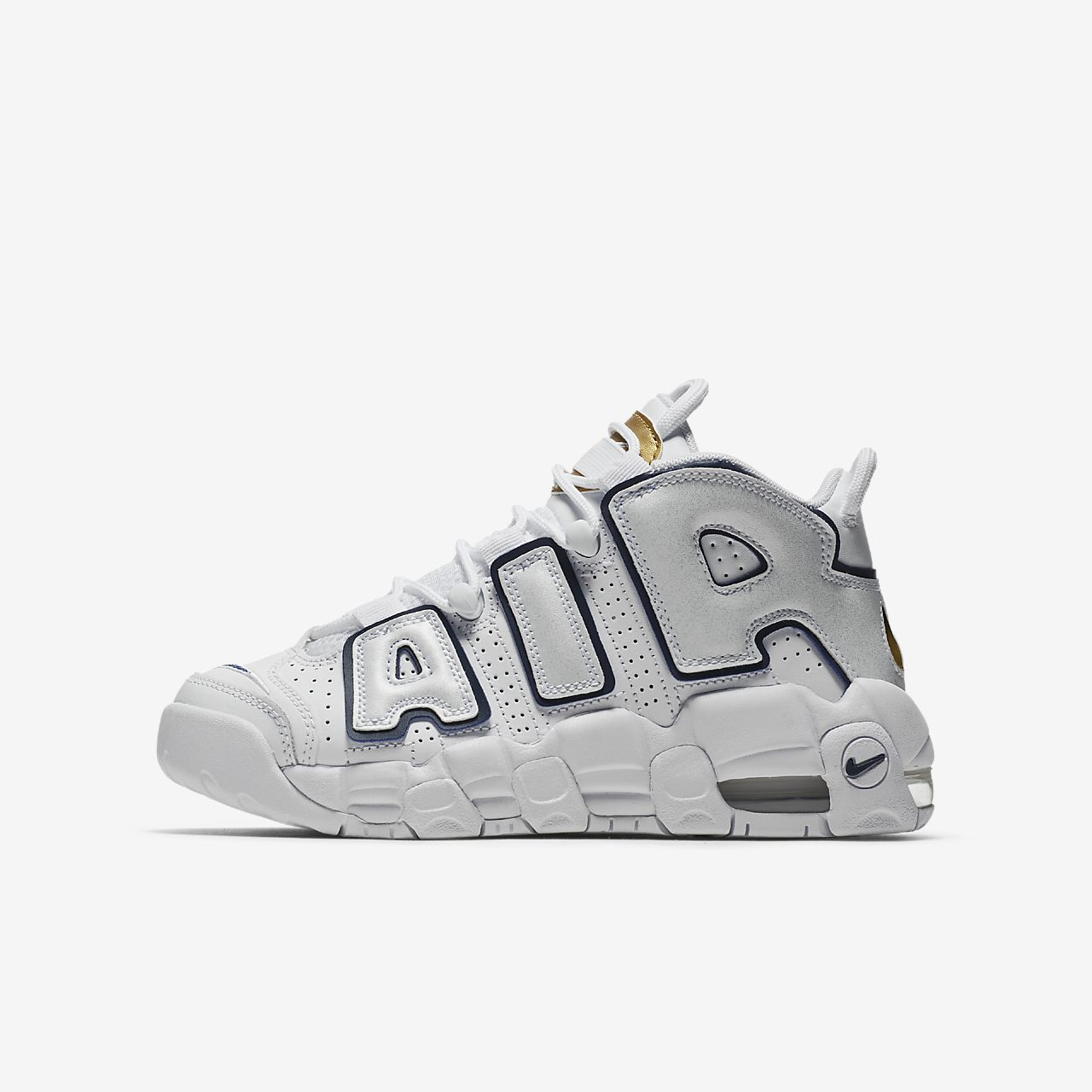 Nike Air More Uptempo Big Kids Shoe