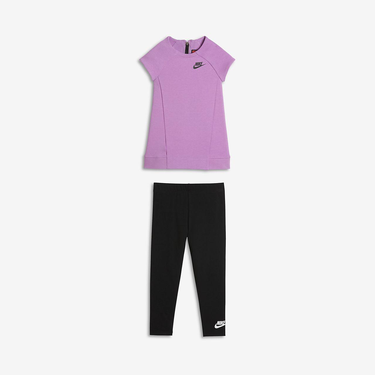 ... Nike Tech Fleece Two-Piece Conjunto - Bebé e infantil (niña)