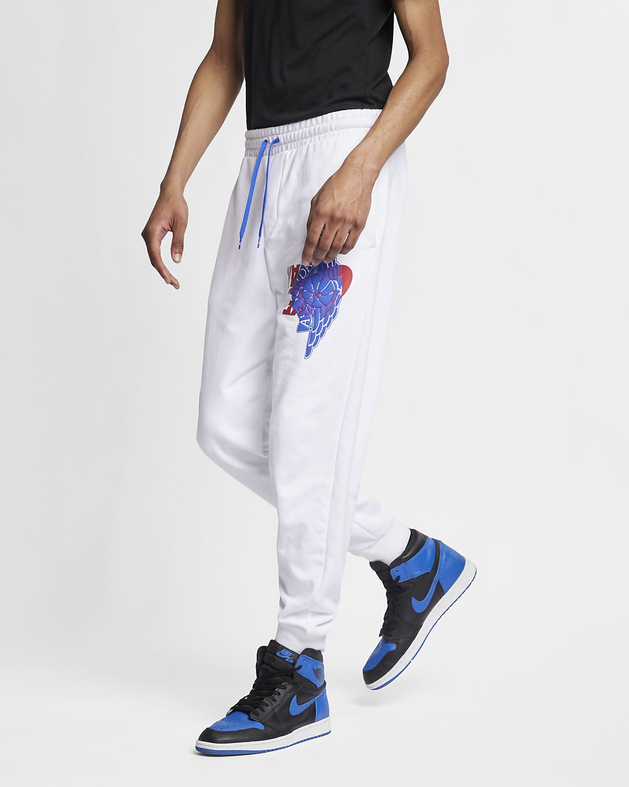 5a5b7f1ad84 Jordan Jumpman Wings Classics Men's Pants. Nike.com