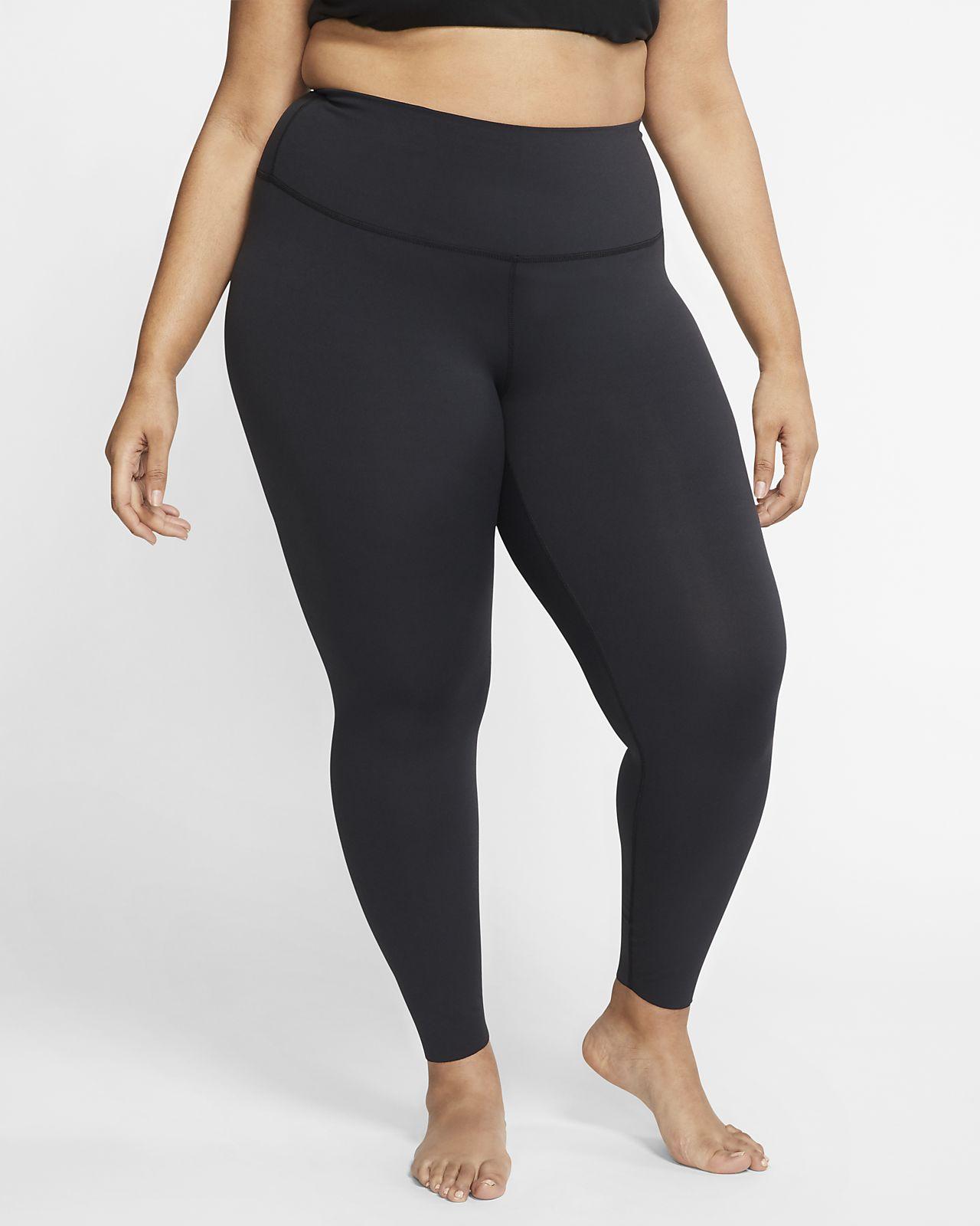 Legginsy damskie 7/8 Nike Yoga (duże rozmiary)