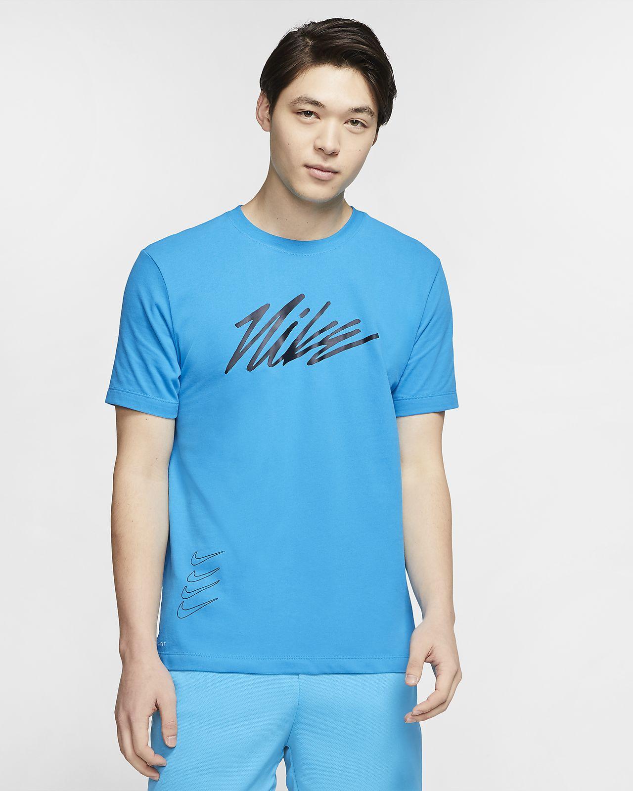 Nike Dri-FIT Trainings-T-Shirt mit Grafik für Herren