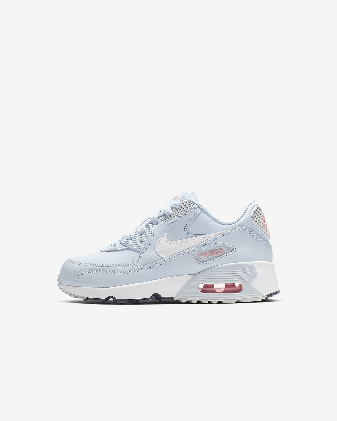 reputable site f964b cbe99 ... Nike Air Max 90 Leather Little Kids  Shoe