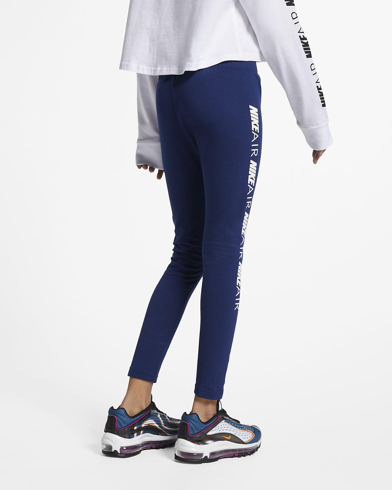 96f30294e9f76 Nike Air Older Kids' (Girls') Leggings. Nike.com SE