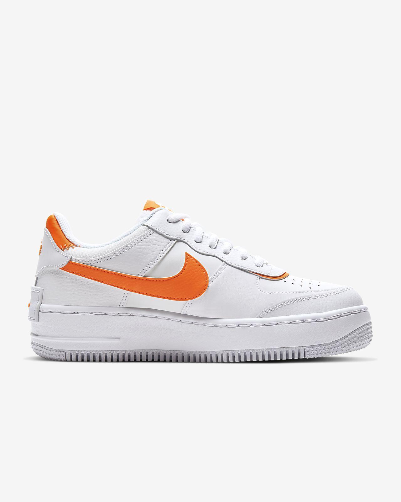 """Nike Air Force 1 Shadow Releasing in """"Total Orange"""